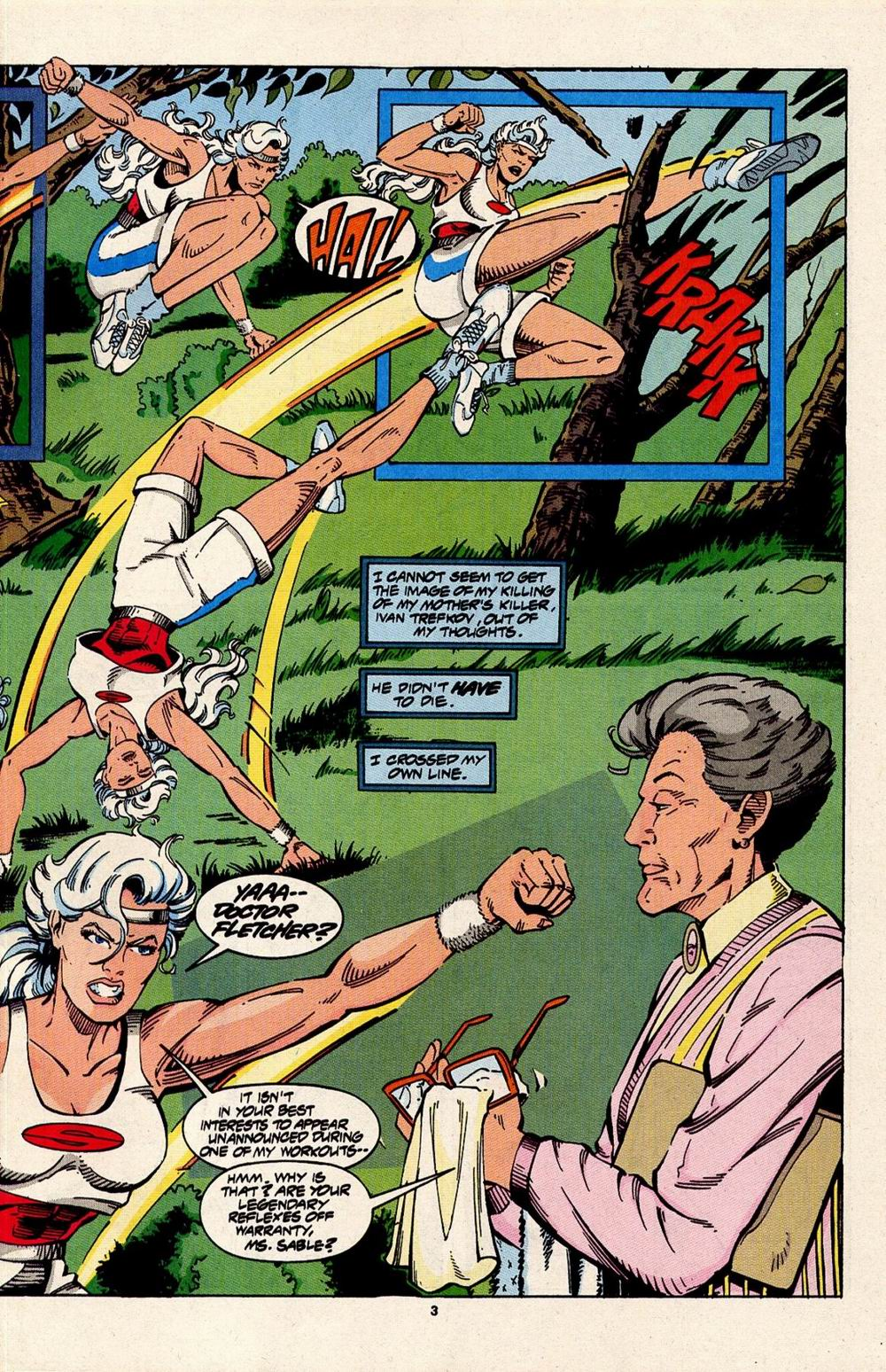 Read online Silver Sable and the Wild Pack comic -  Issue #31 - 4