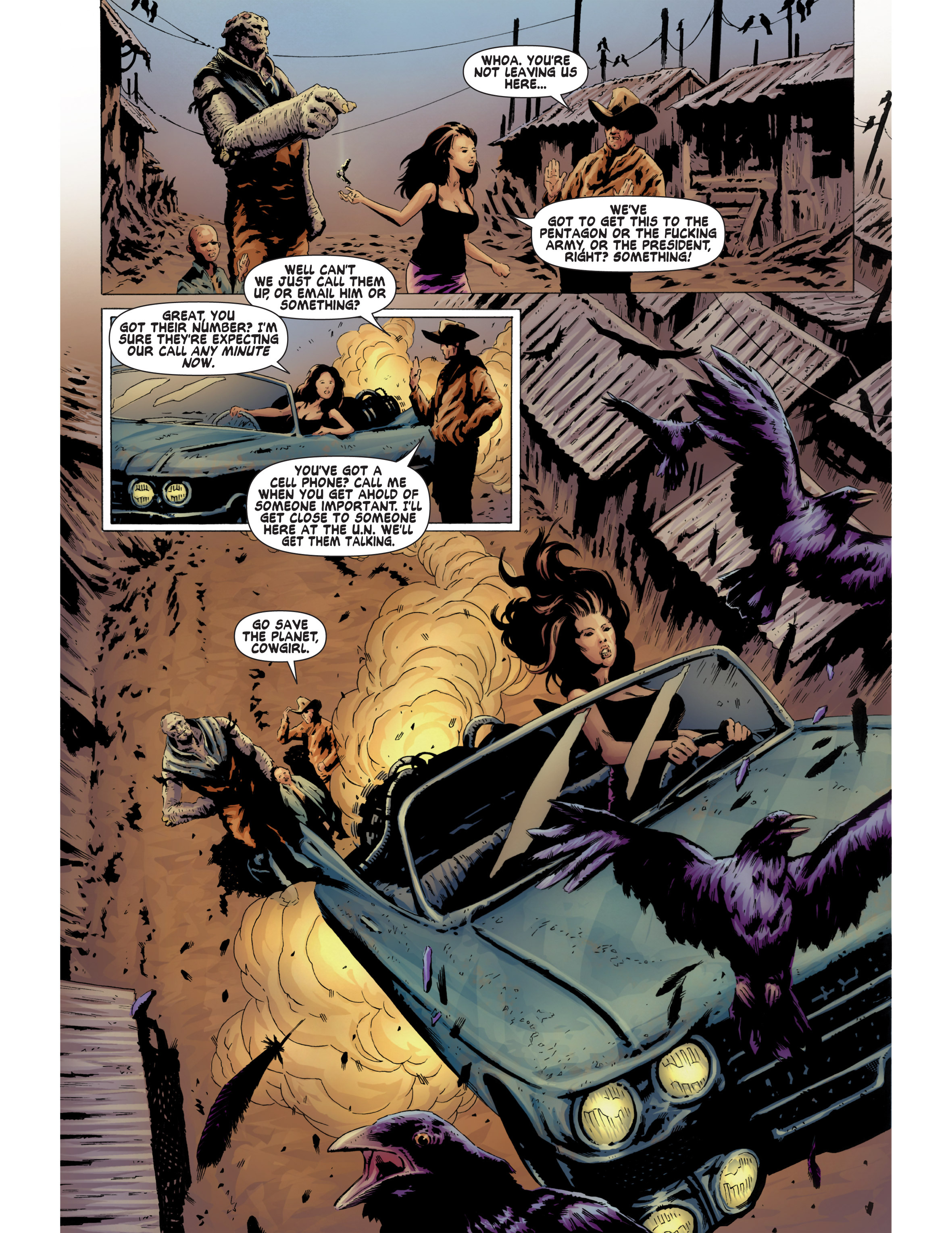 Read online Bad Planet comic -  Issue # TPB - 113