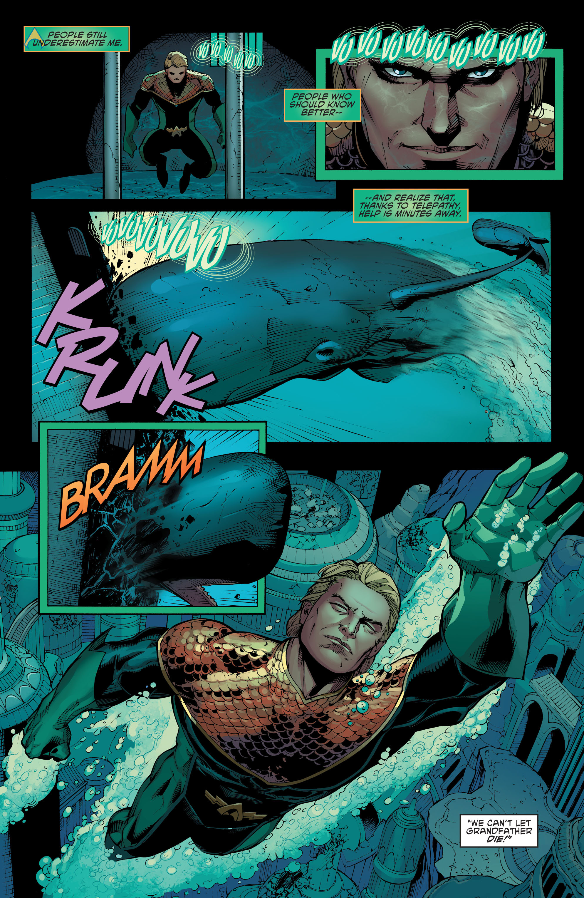 Read online Aquaman and the Others: Futures End comic -  Issue #Aquaman and the Others: Futures End Full - 13
