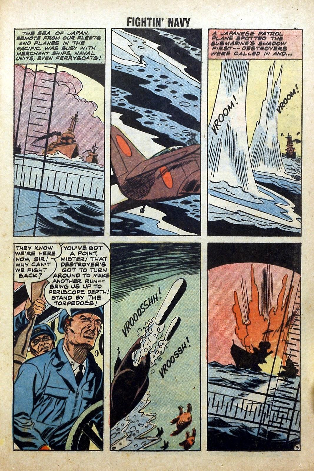 Read online Fightin' Navy comic -  Issue #84 - 25