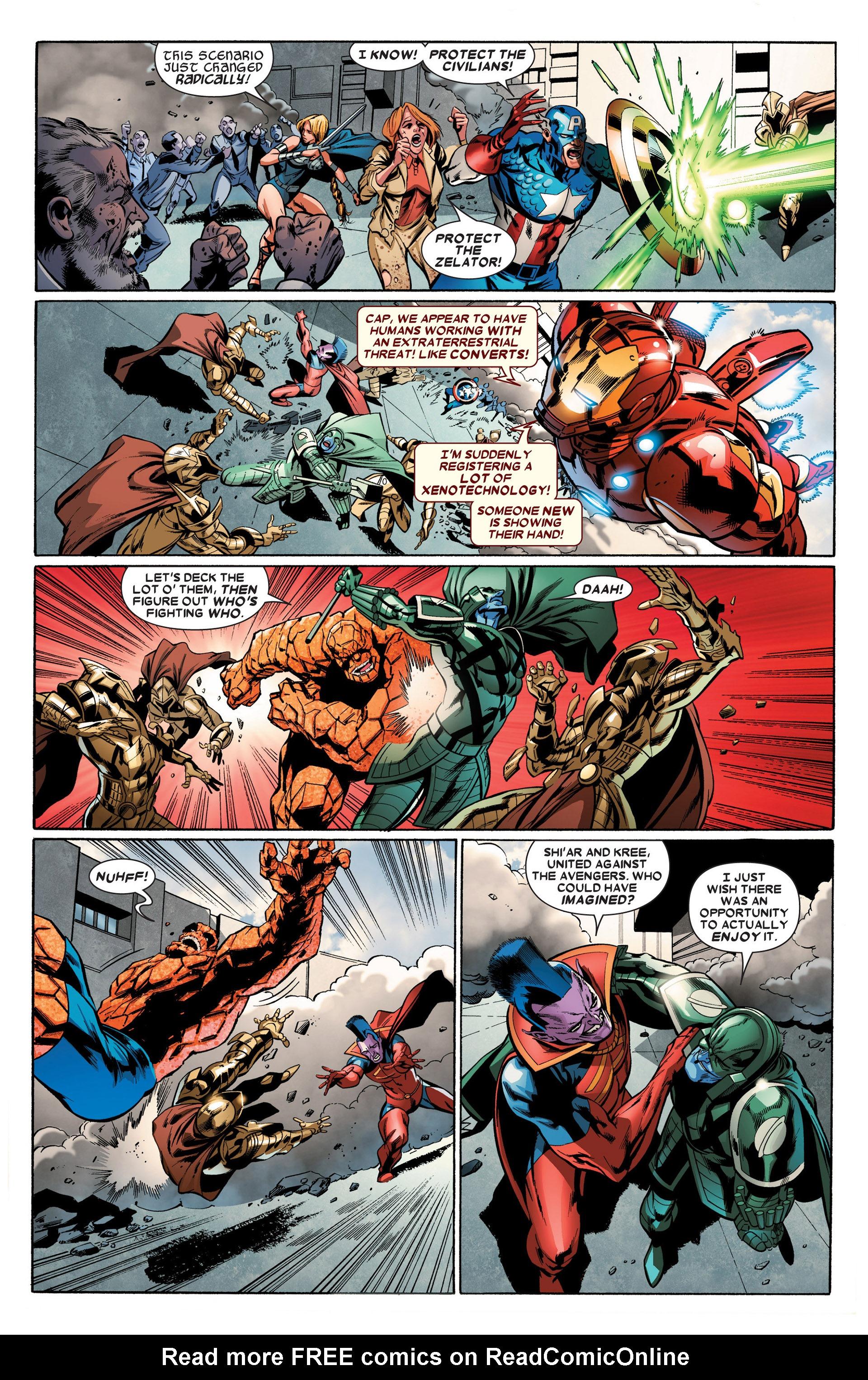 Read online Annihilators: Earthfall comic -  Issue #2 - 17