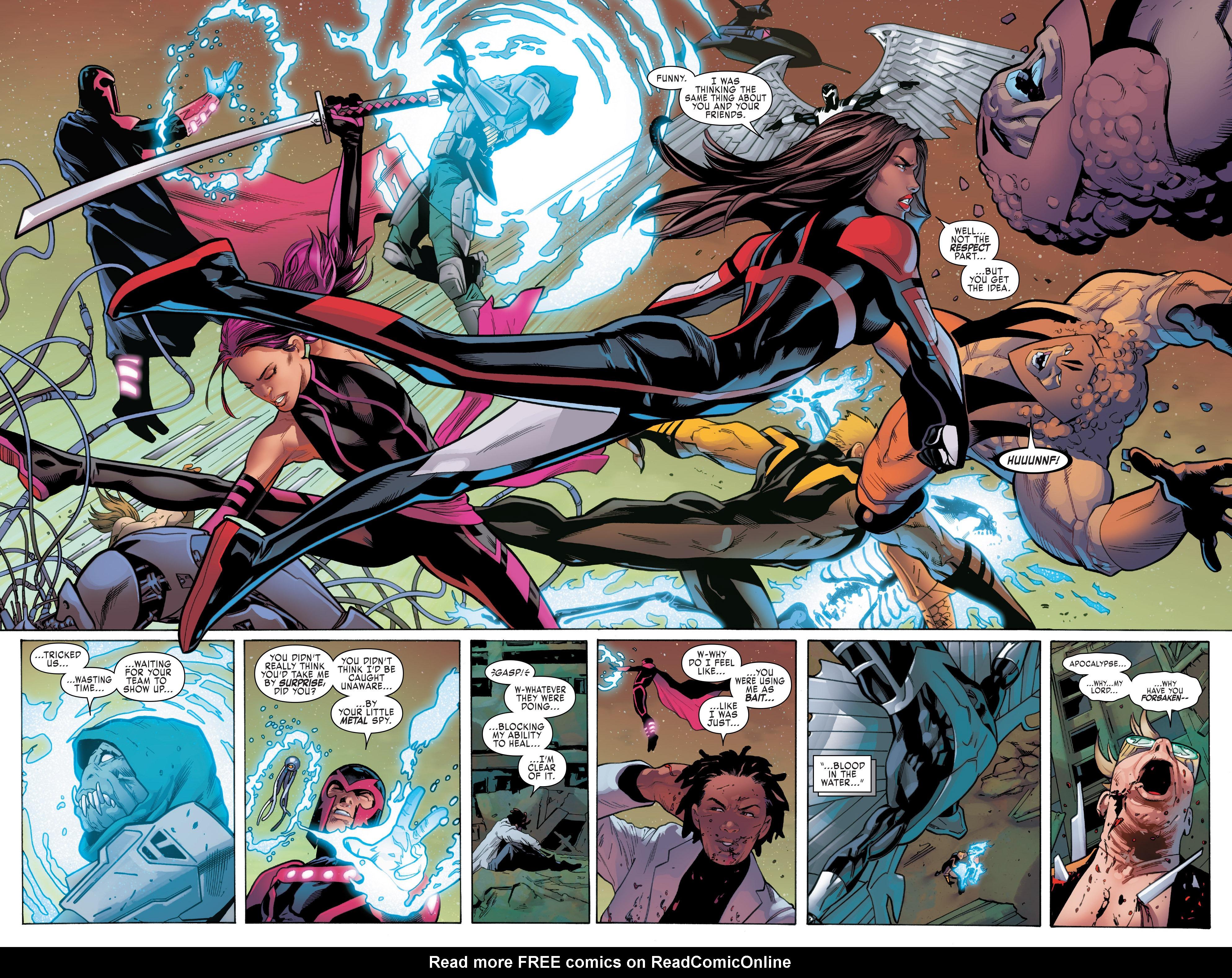 Read online Uncanny X-Men (2016) comic -  Issue #5 - 8