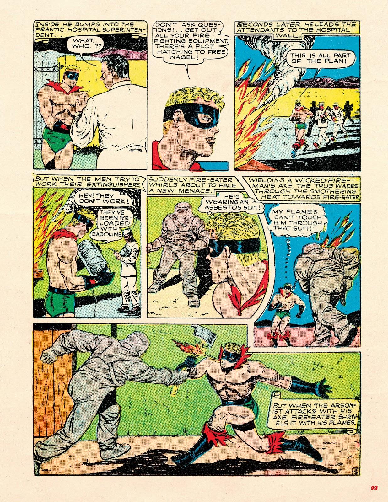 Read online Super Weird Heroes comic -  Issue # TPB 2 (Part 1) - 93