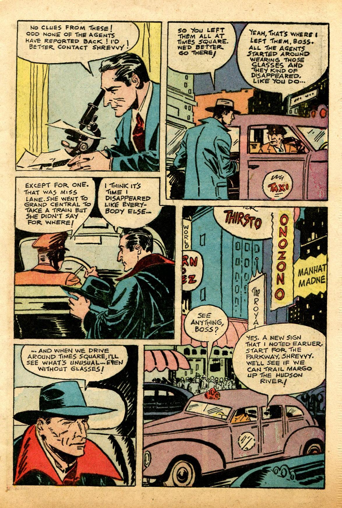 Read online Shadow Comics comic -  Issue #74 - 9