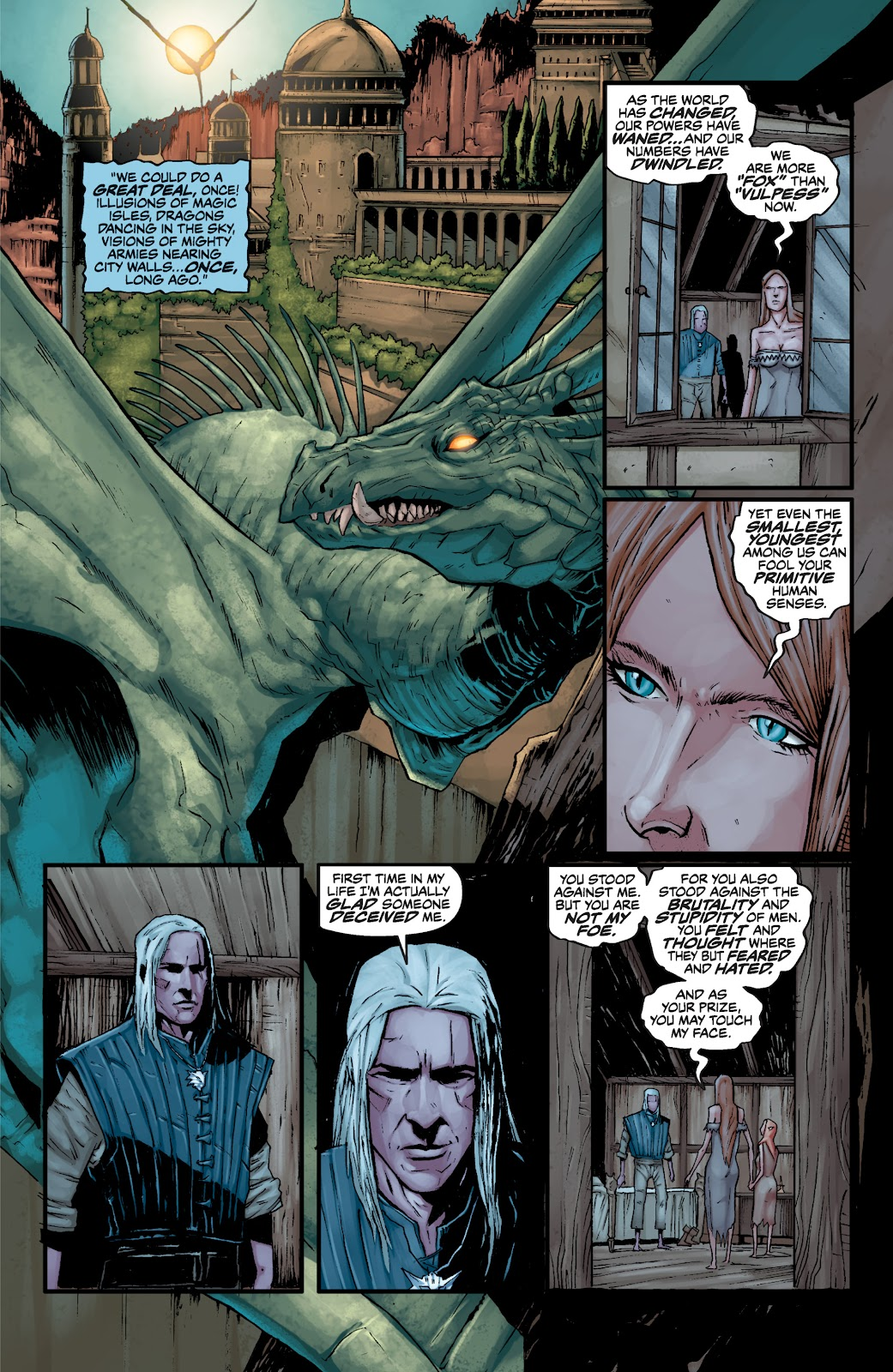 Read online The Witcher Omnibus comic -  Issue # TPB (Part 3) - 45