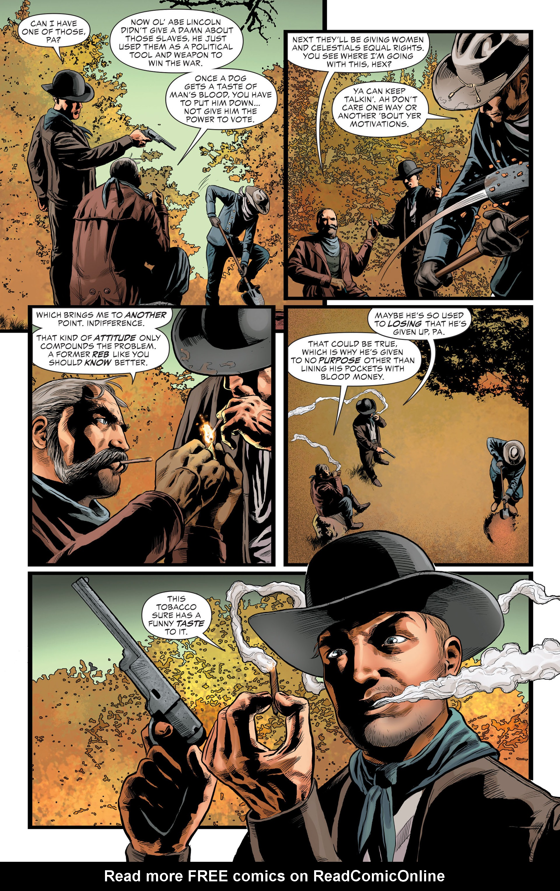 Read online All-Star Western (2011) comic -  Issue #29 - 15