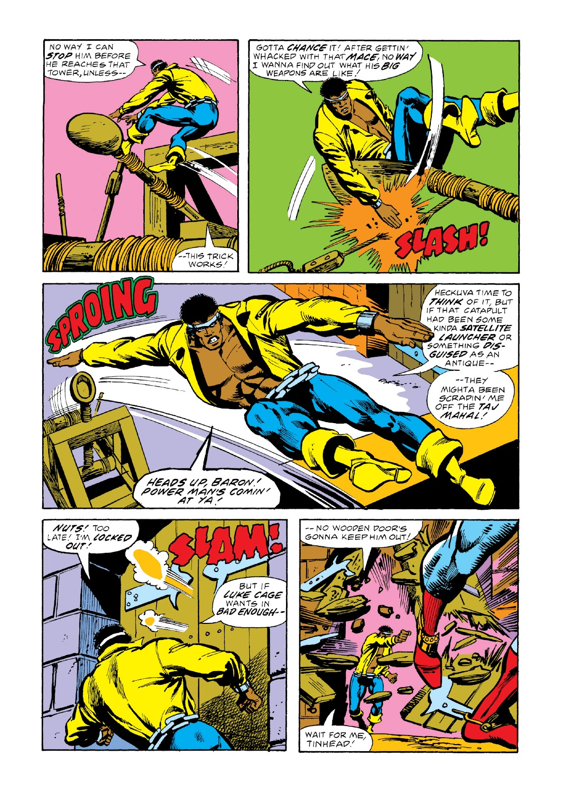 Read online Marvel Masterworks: Luke Cage, Power Man comic -  Issue # TPB 3 (Part 2) - 70