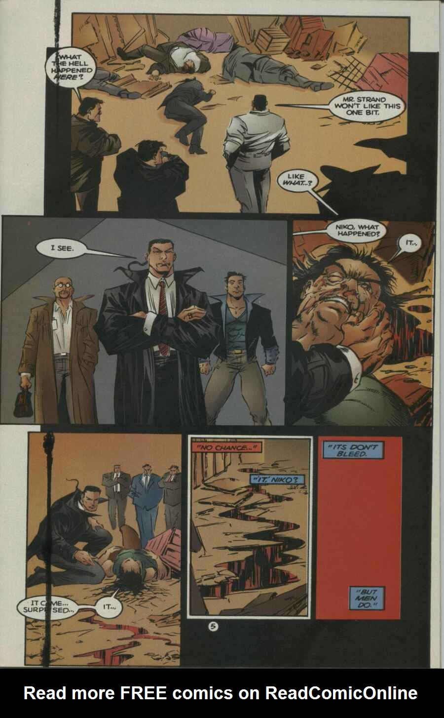 Read online Ultraverse Premiere comic -  Issue #2 - 5