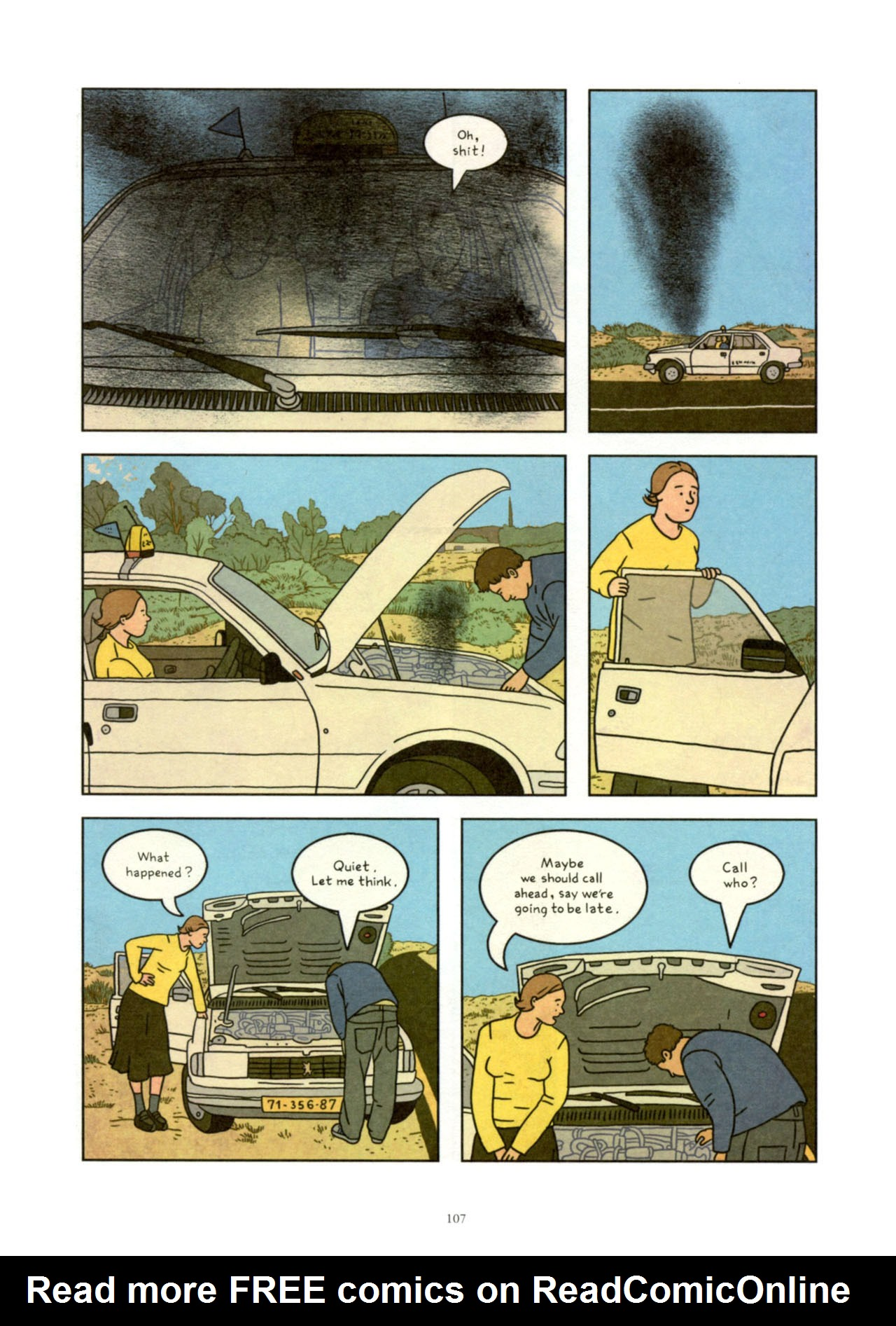 Read online Exit Wounds comic -  Issue # TPB - 107