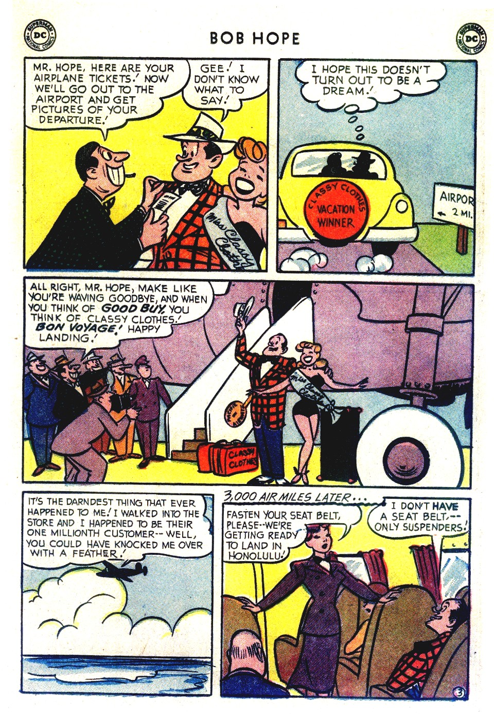 The Adventures of Bob Hope issue 27 - Page 17