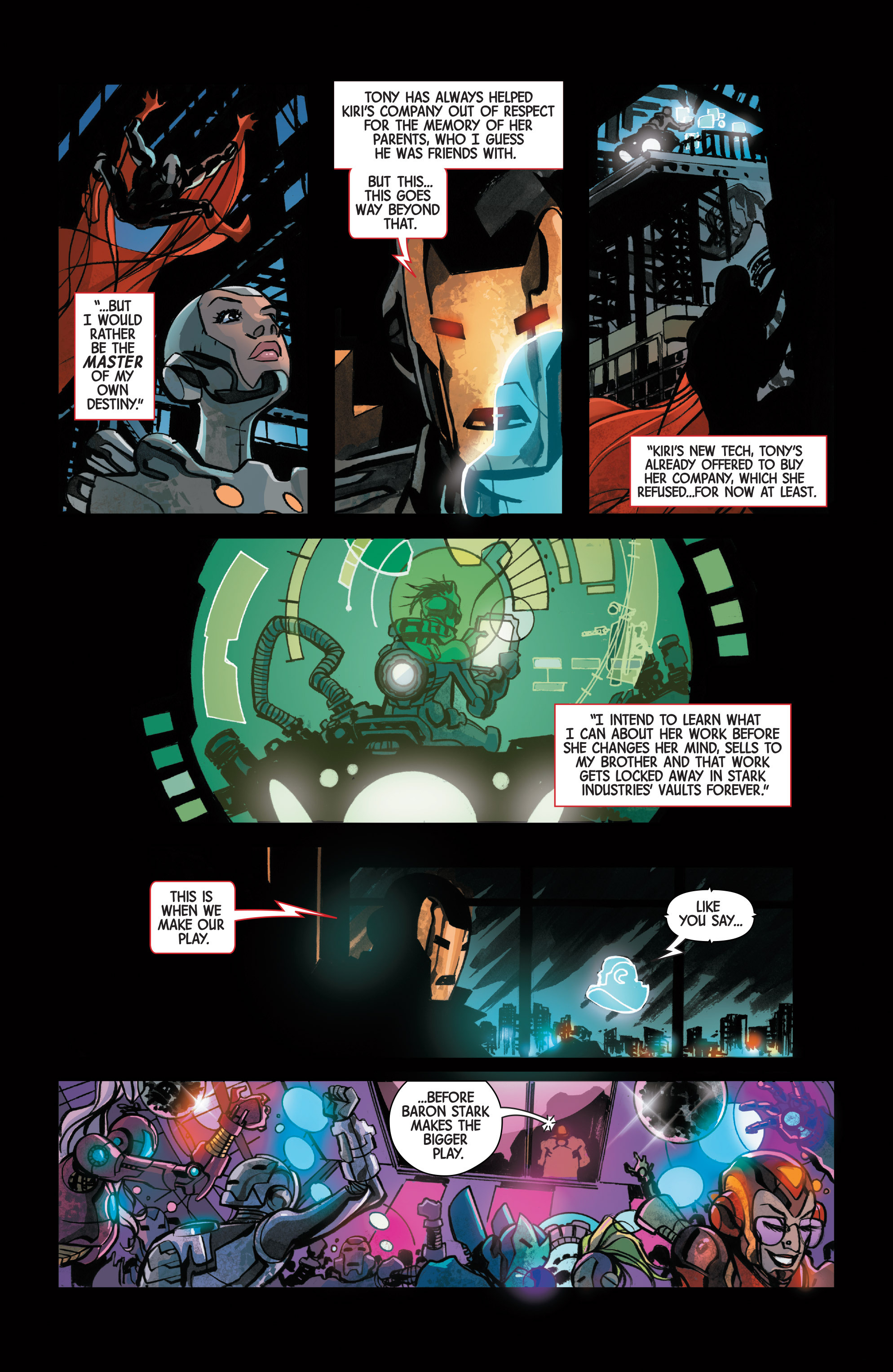 Read online Armor Wars comic -  Issue #2 - 15
