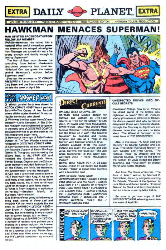 Read online Wonder Woman (1942) comic -  Issue #256 - 29