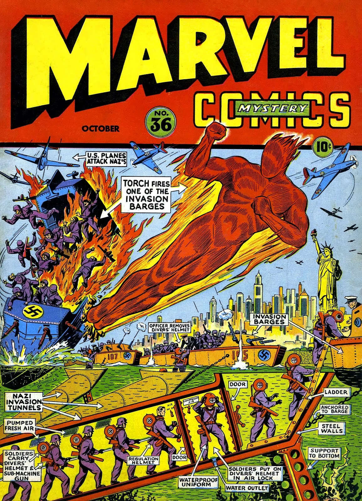 Marvel Mystery Comics 36 Page 1