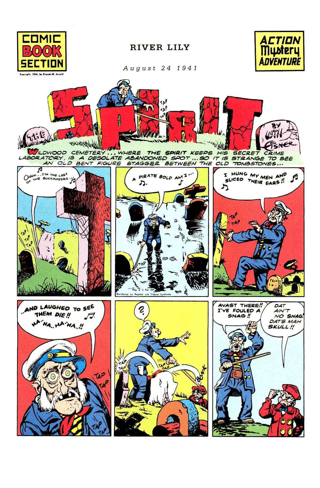 Read online Will Eisner's The Spirit Archives comic -  Issue # TPB 3 (Part 1) - 58