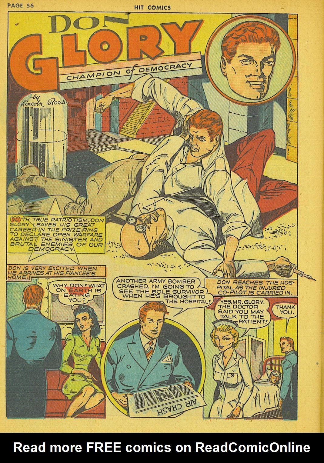 Read online Hit Comics comic -  Issue #21 - 58