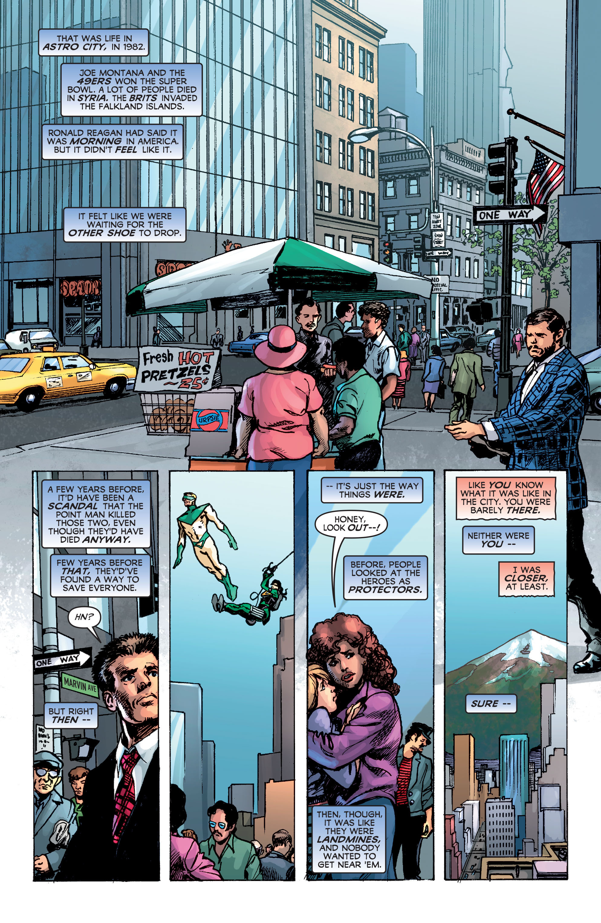 Read online Astro City: Dark Age/Book Three comic -  Issue #1 - 10