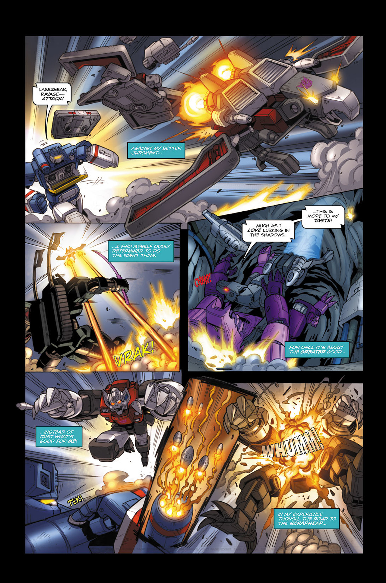 Read online Transformers Spotlight: Soundwave comic -  Issue # Full - 18
