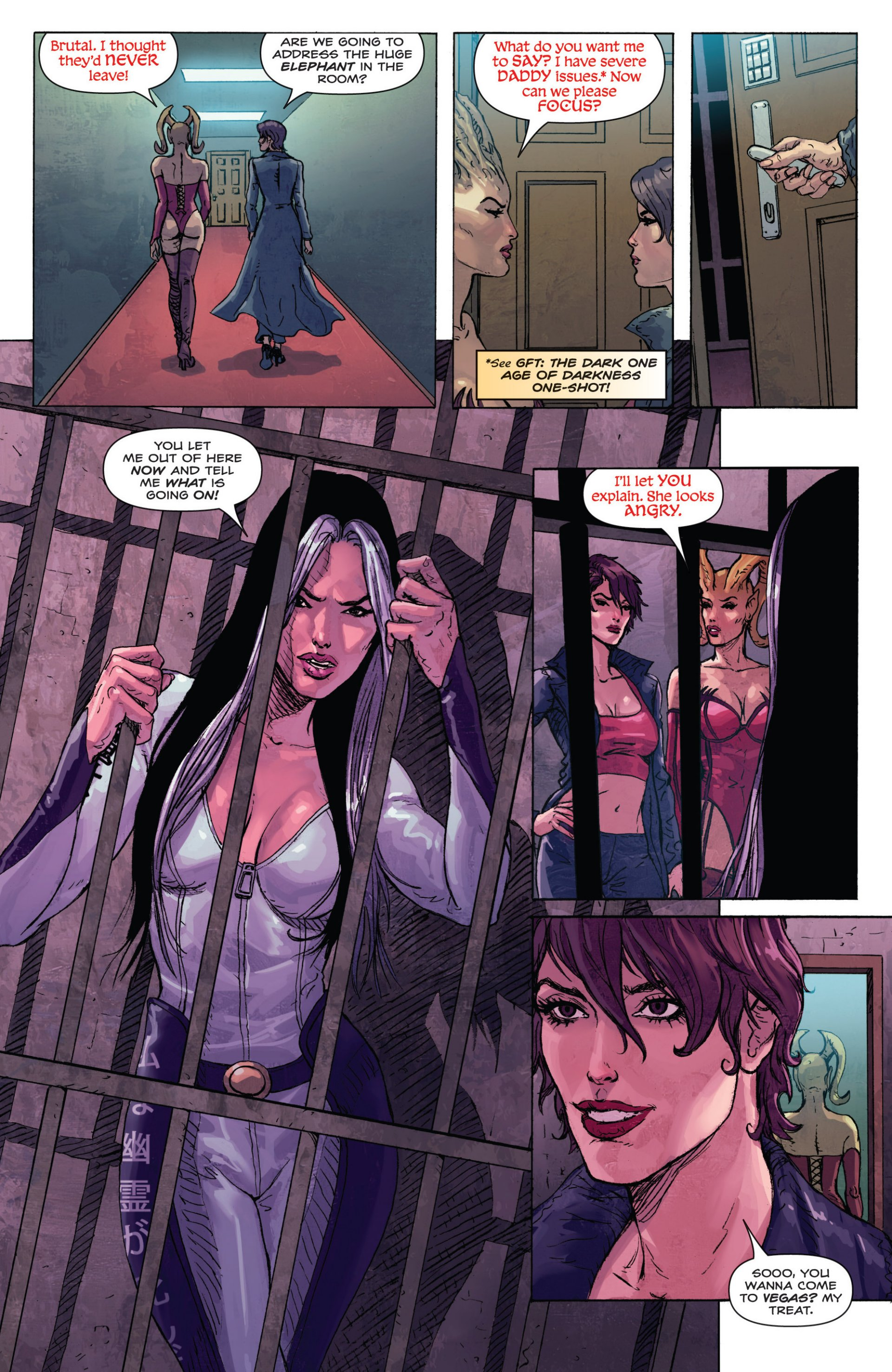 Read online Grimm Fairy Tales presents Inferno: Age of Darkness comic -  Issue # Full - 28
