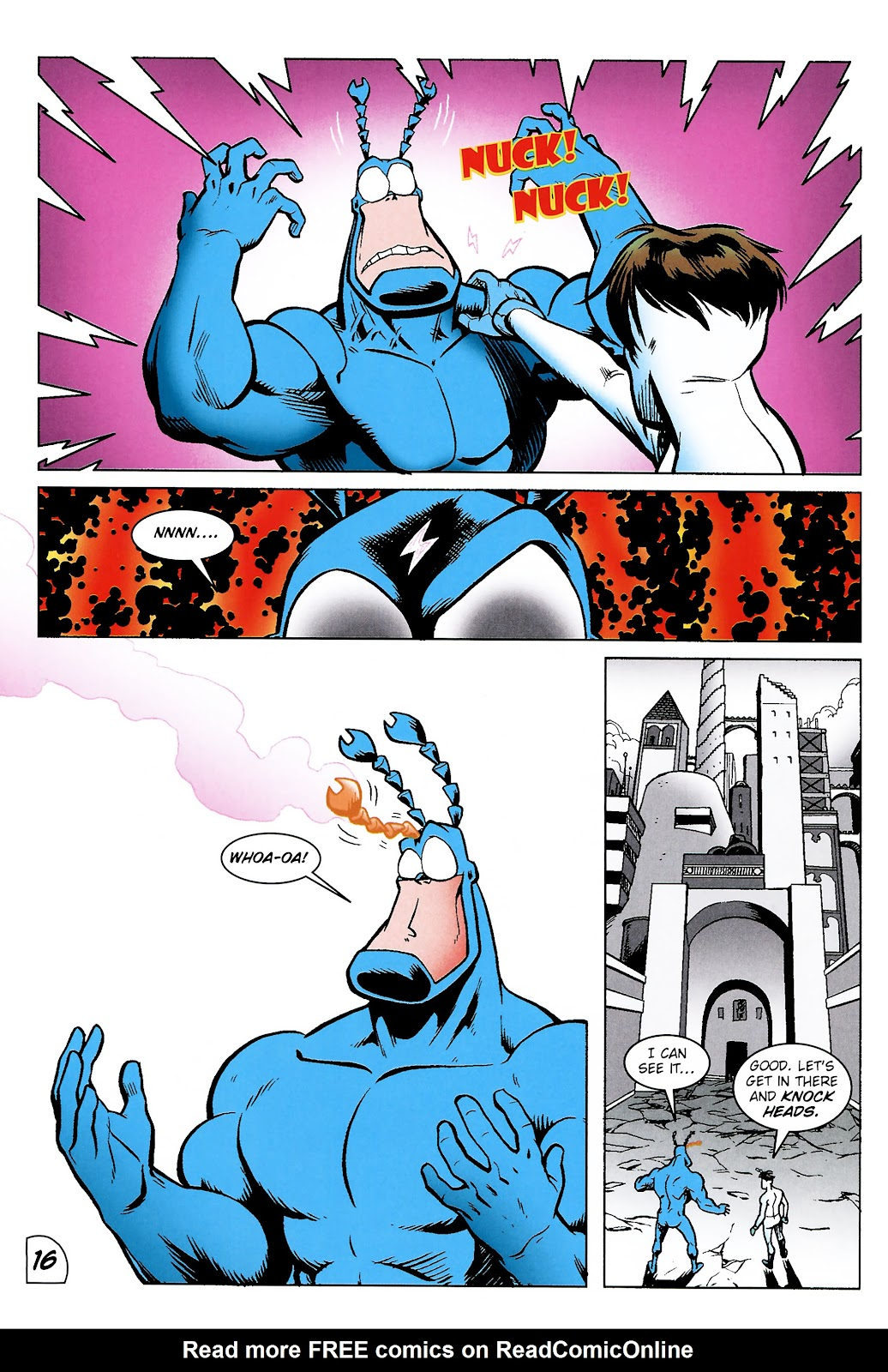 Read online The Tick comic -  Issue #101 - 19