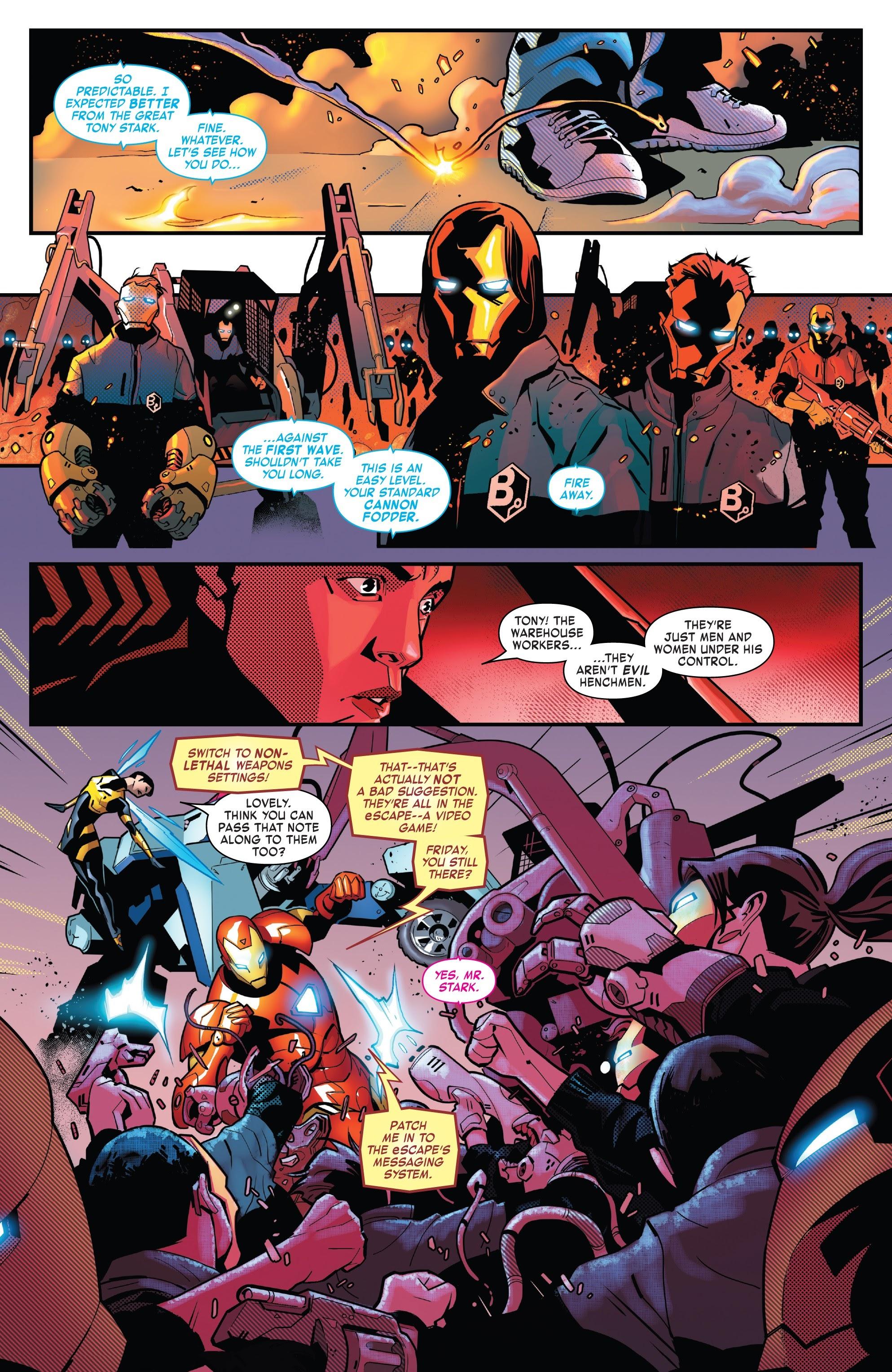 Read online Tony Stark: Iron Man comic -  Issue #8 - 6