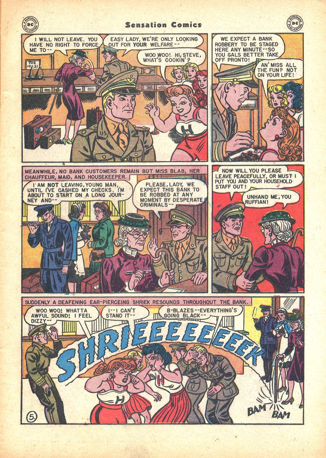 Read online Sensation (Mystery) Comics comic -  Issue #63 - 7