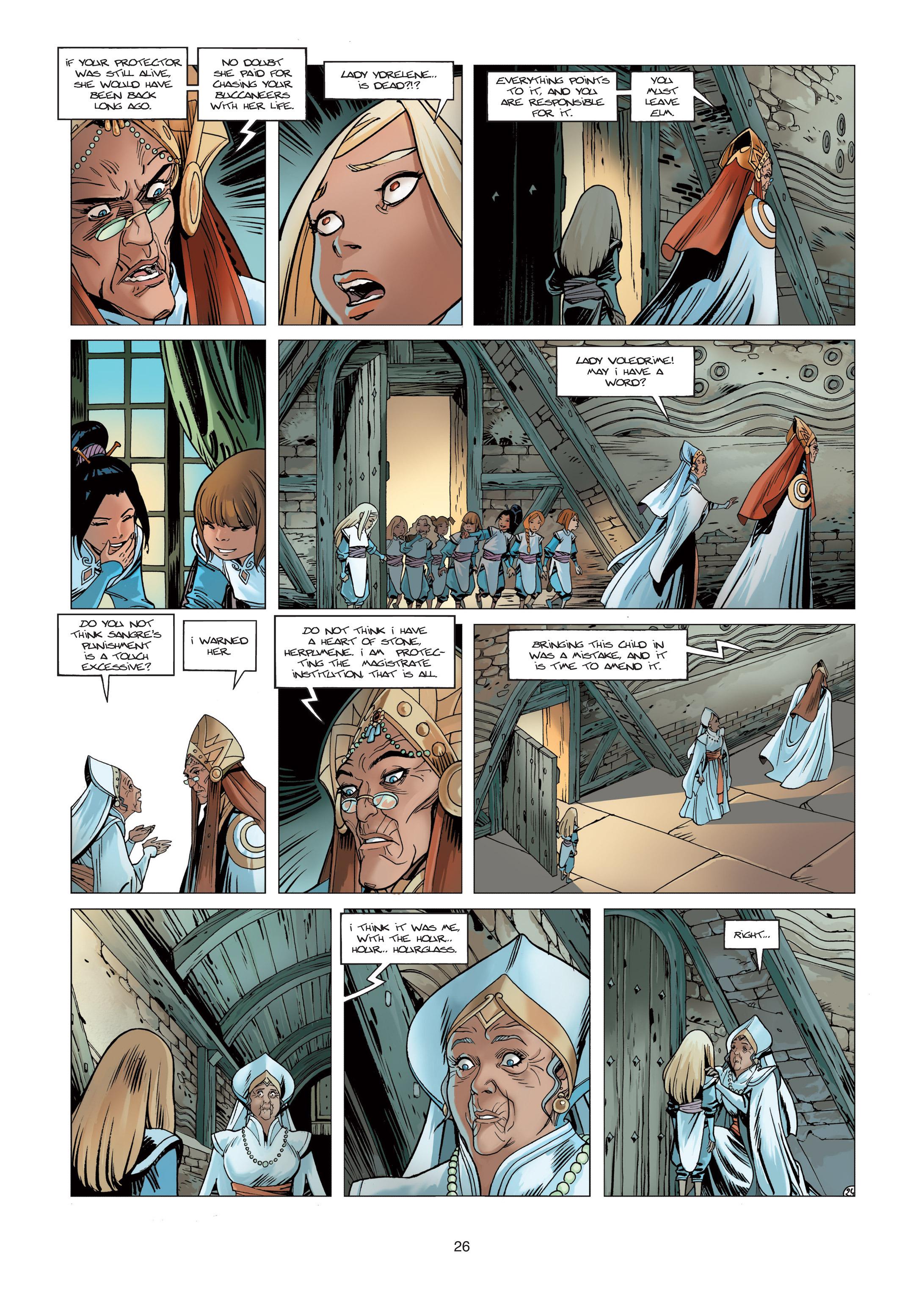 Read online Sangre Vol. 1: Sangre the Survivor comic -  Issue # Full - 26