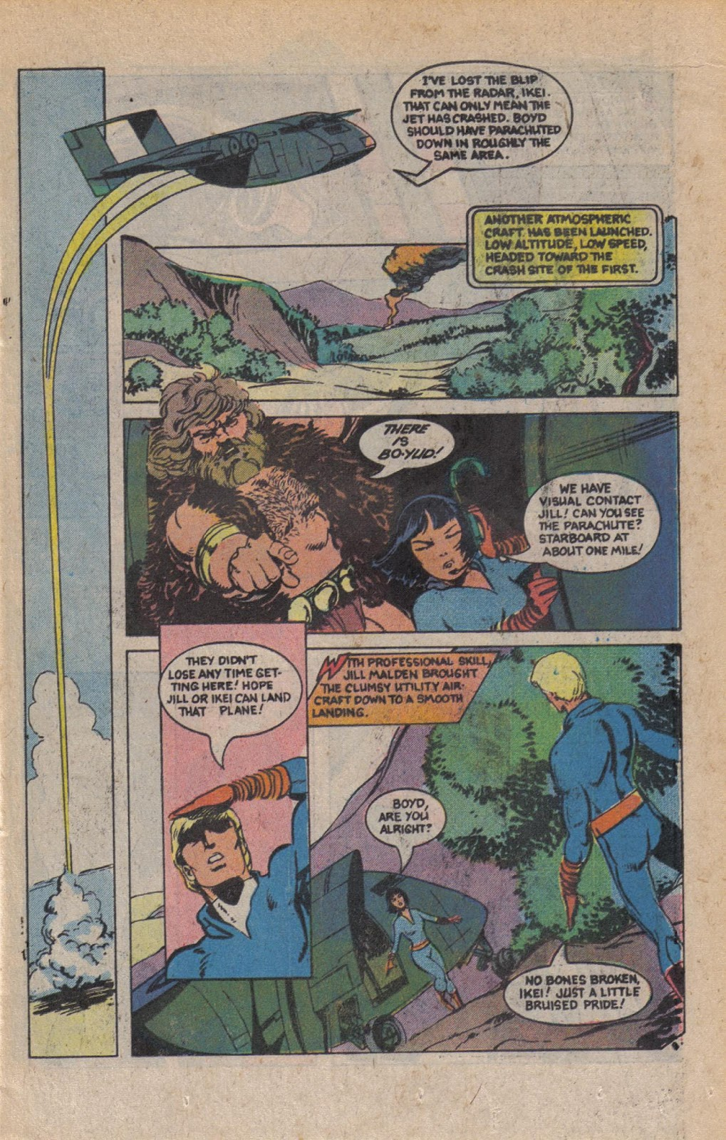 Read online Doomsday   1 (1975) comic -  Issue #9 - 11