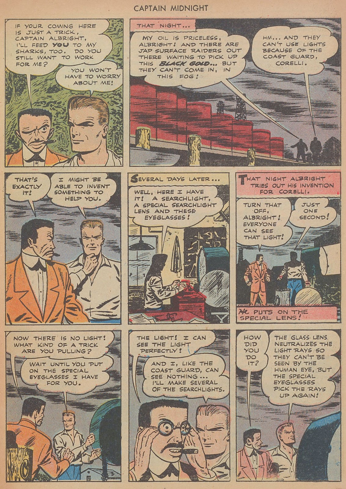 Captain Midnight (1942) issue 29 - Page 7