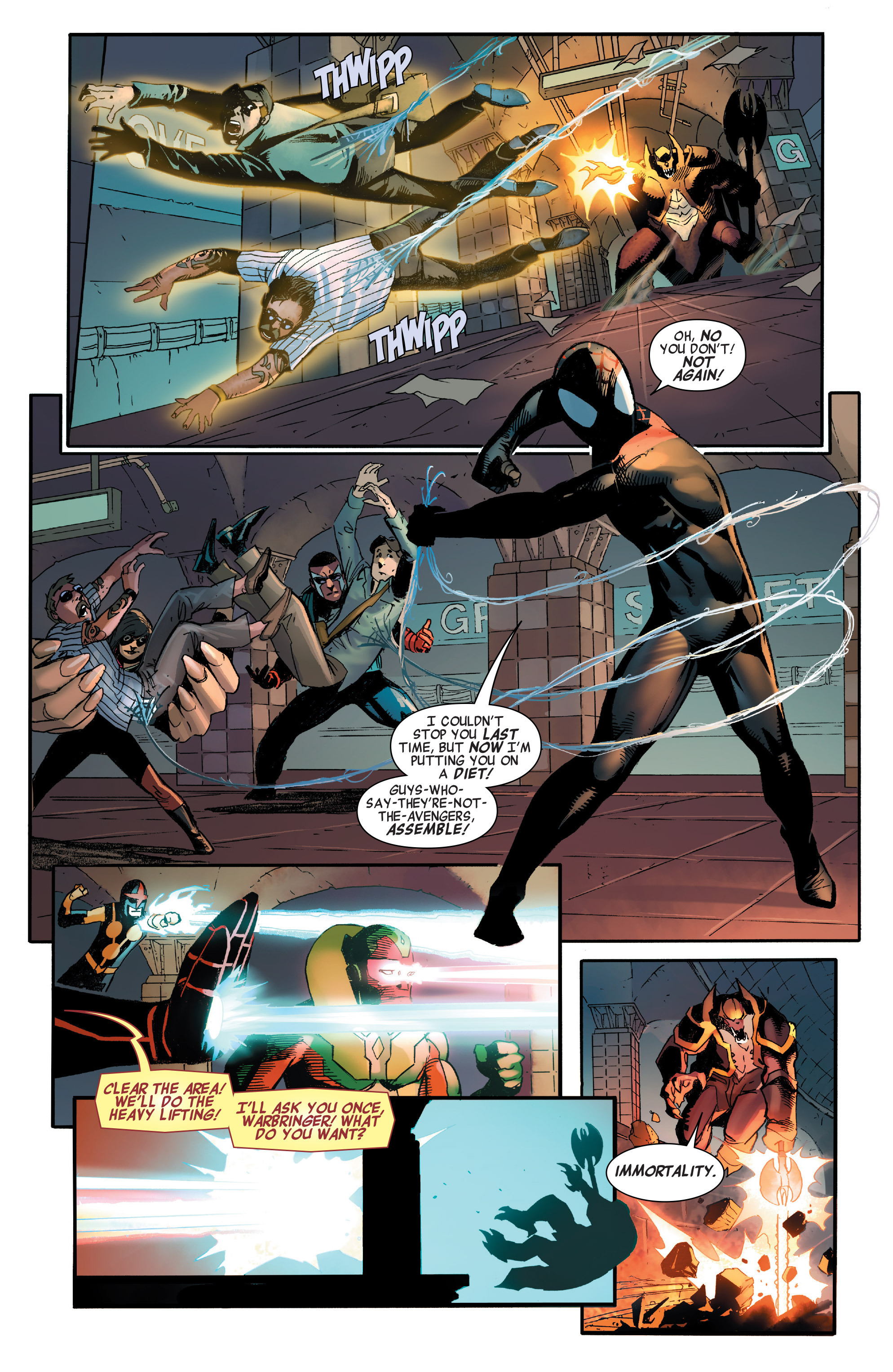 Read online All-New, All-Different Avengers comic -  Issue #2 - 15