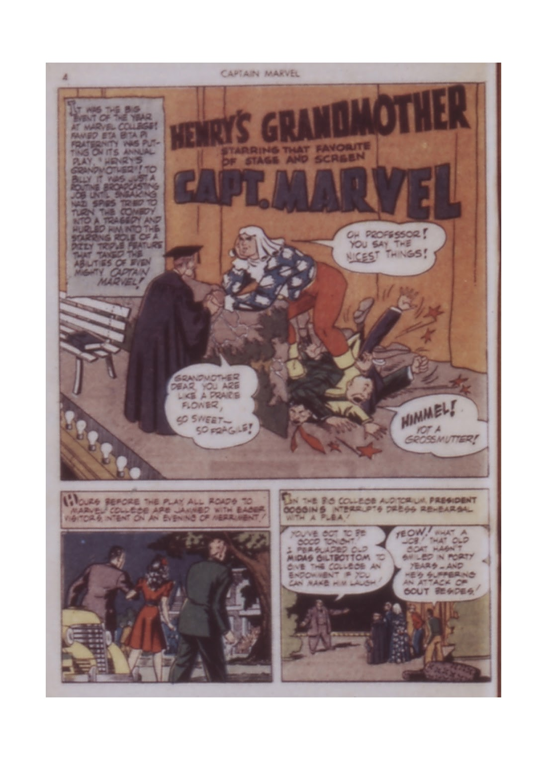 Captain Marvel Adventures issue 14 - Page 4