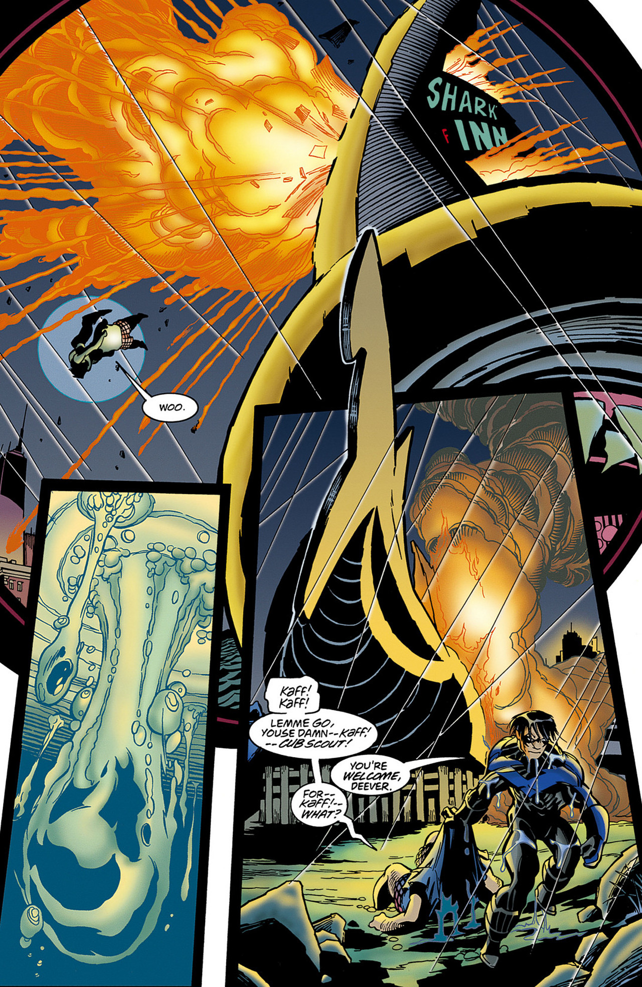 Read online Nightwing (1996) comic -  Issue #0.5 - 17