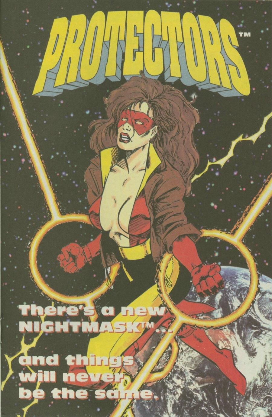 Read online Ex-Mutants comic -  Issue #7 - 20