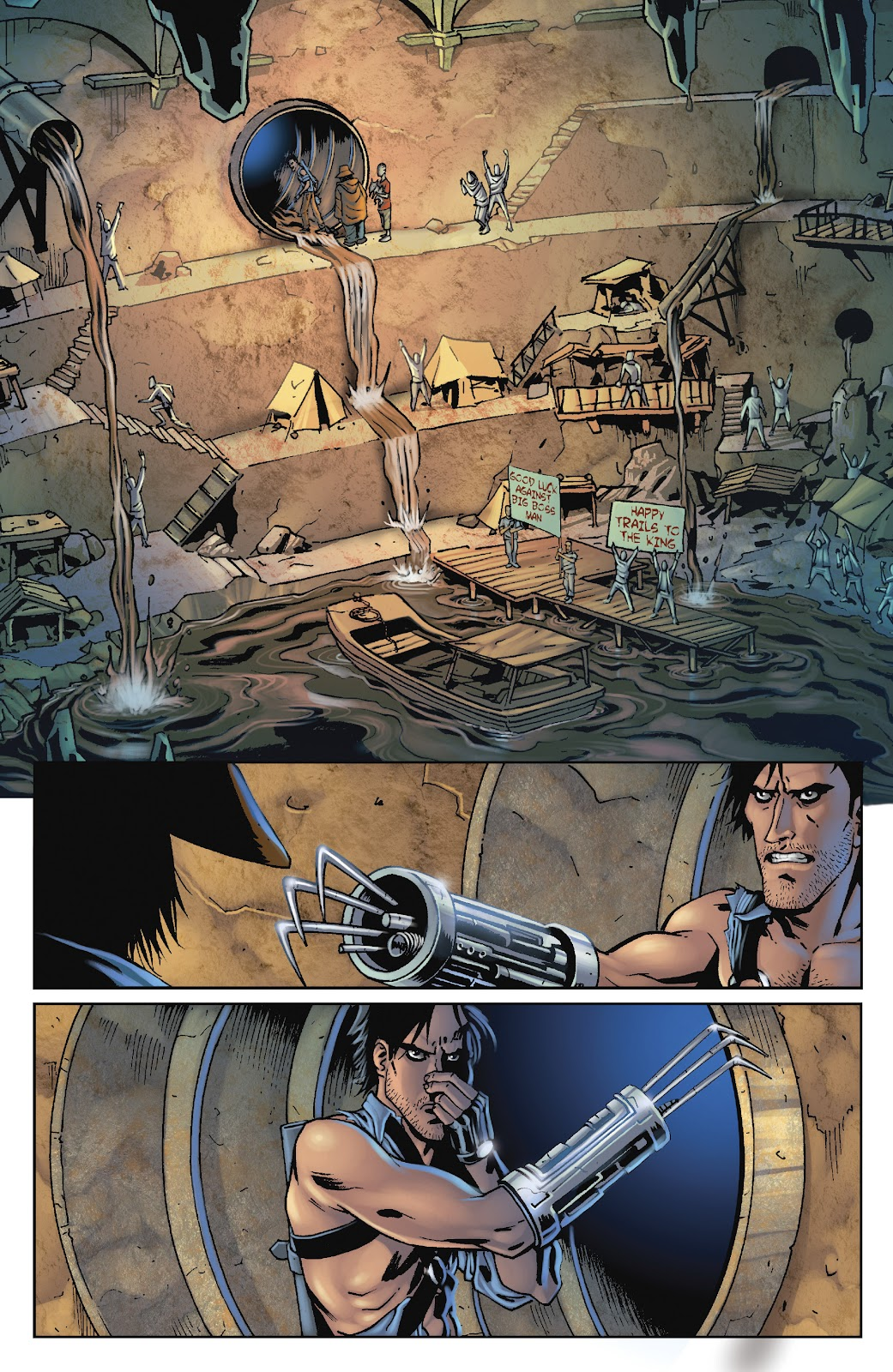 Army of Darkness: The Long Road Home issue TPB - Page 82