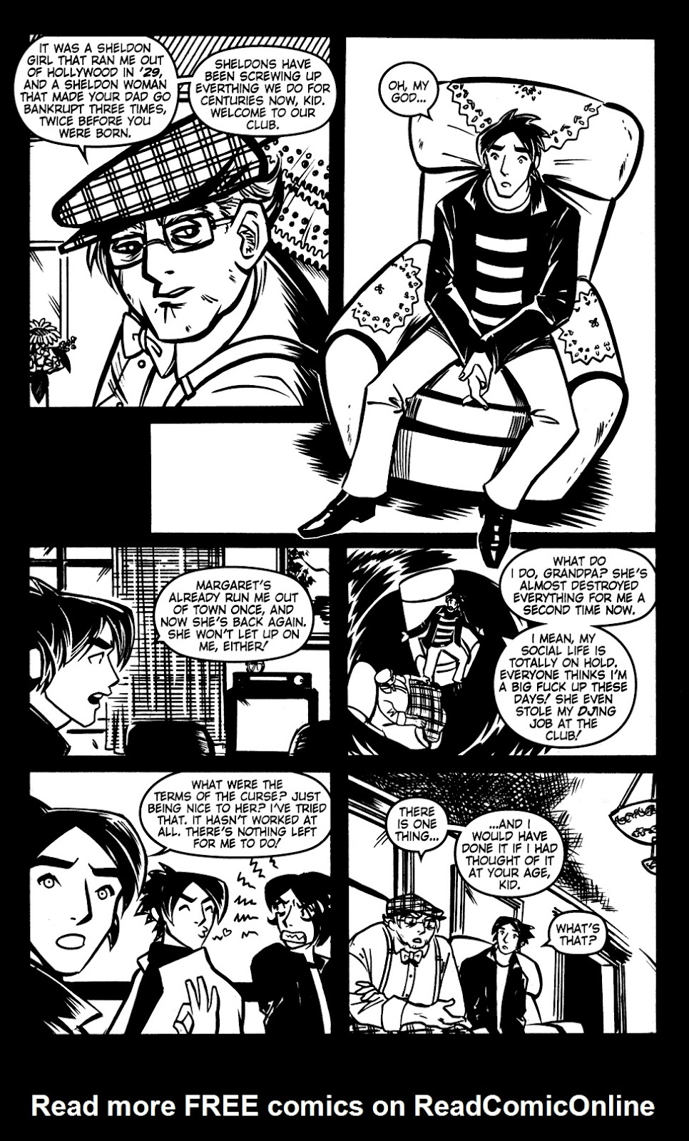 Read online Scooter Girl comic -  Issue #3 - 23