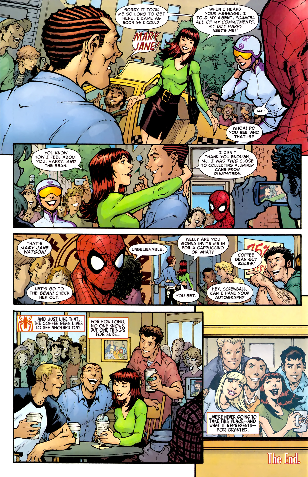 Read online Amazing Spider-Man Presents: American Son comic -  Issue #1 - 35