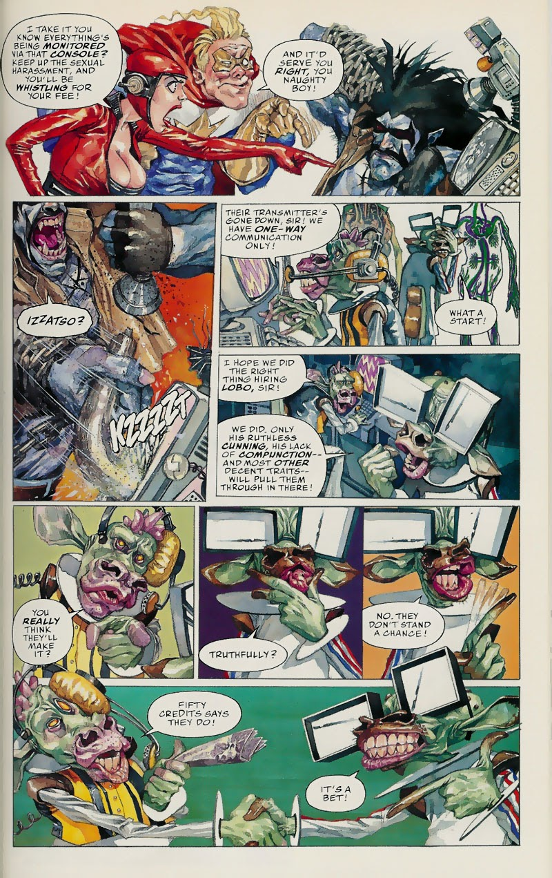 Lobo: Fragtastic Voyage issue Full - Page 16