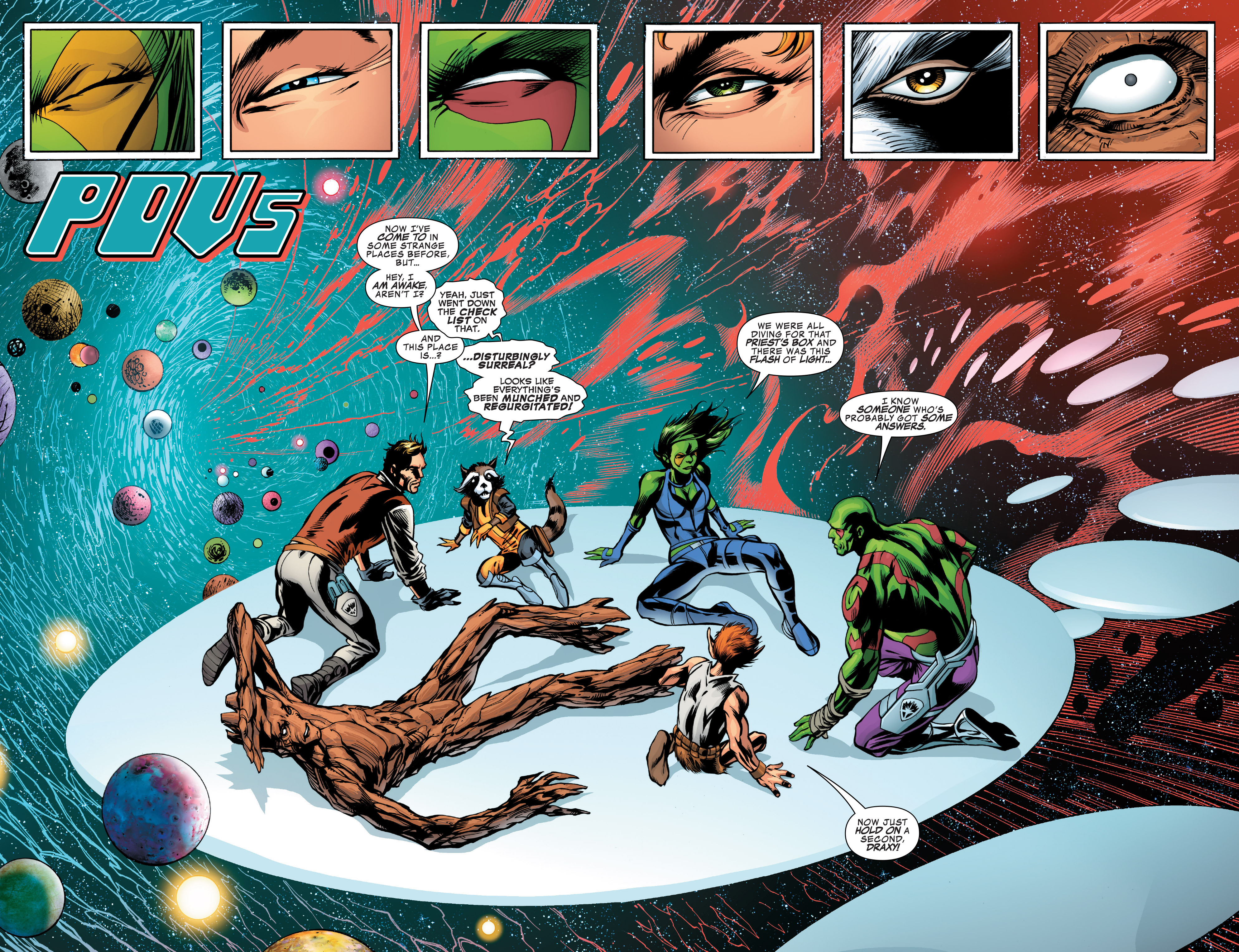Read online Guardians of the Galaxy: Mother Entropy comic -  Issue #2 - 3