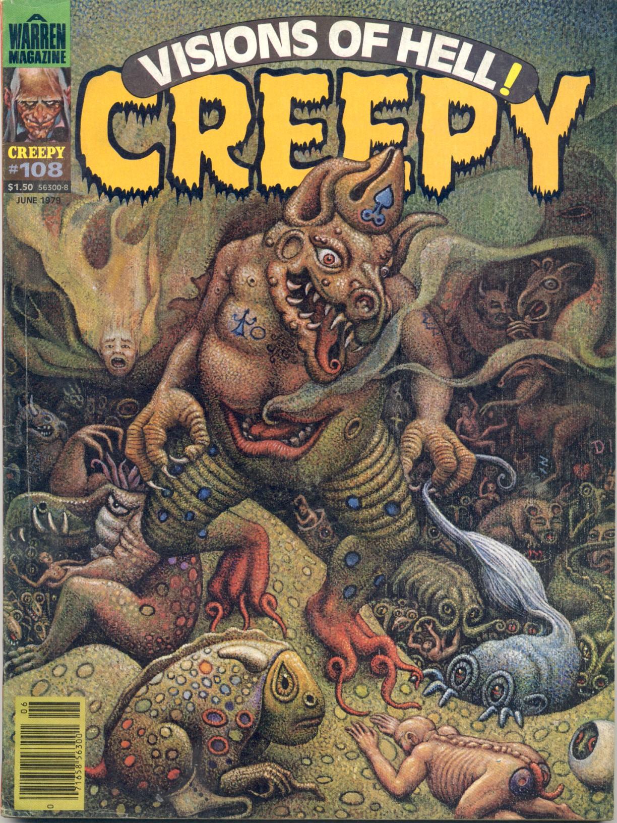 Creepy (1964) 108 Page 1
