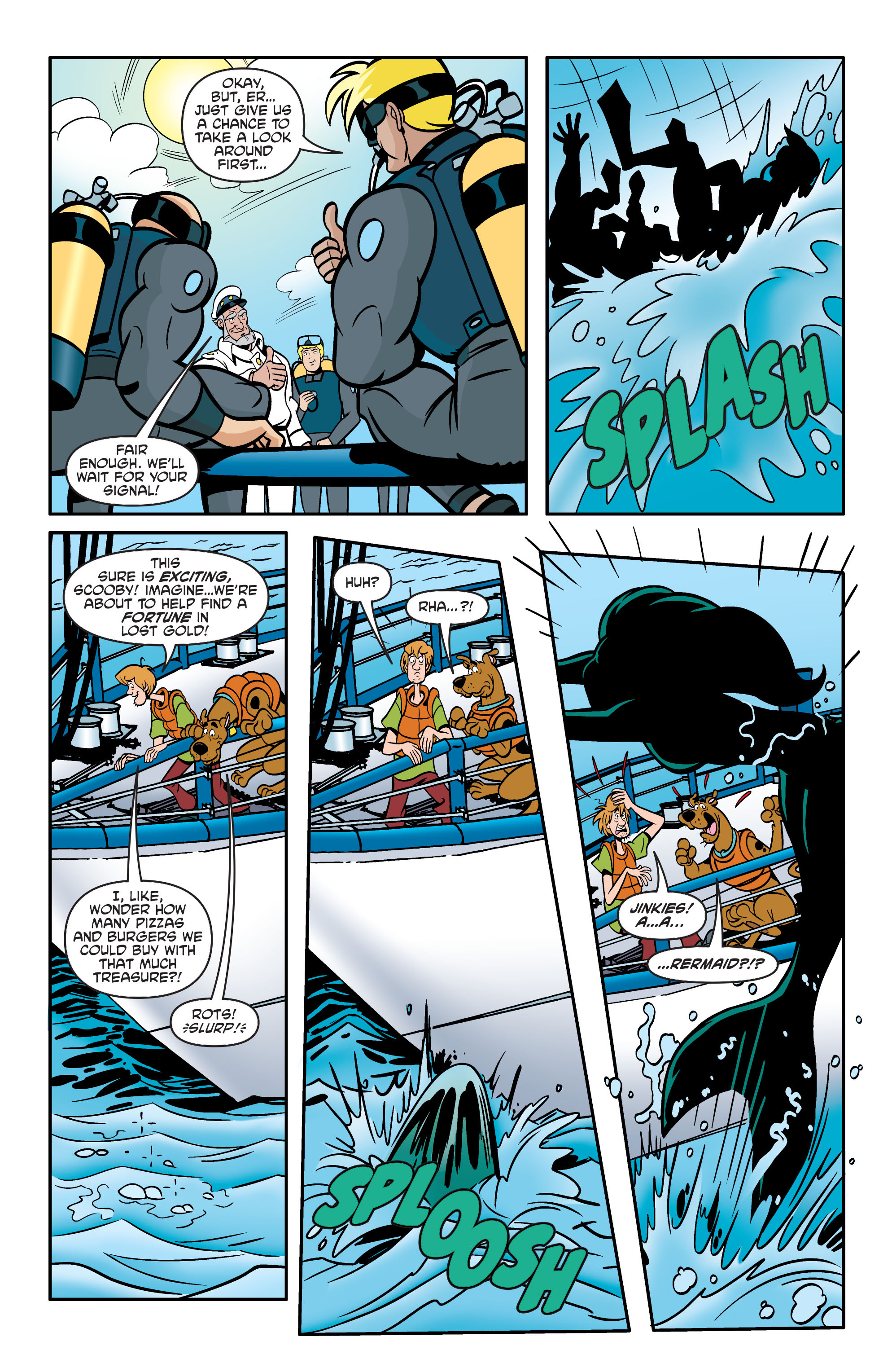 Read online Scooby-Doo: Where Are You? comic -  Issue #60 - 18