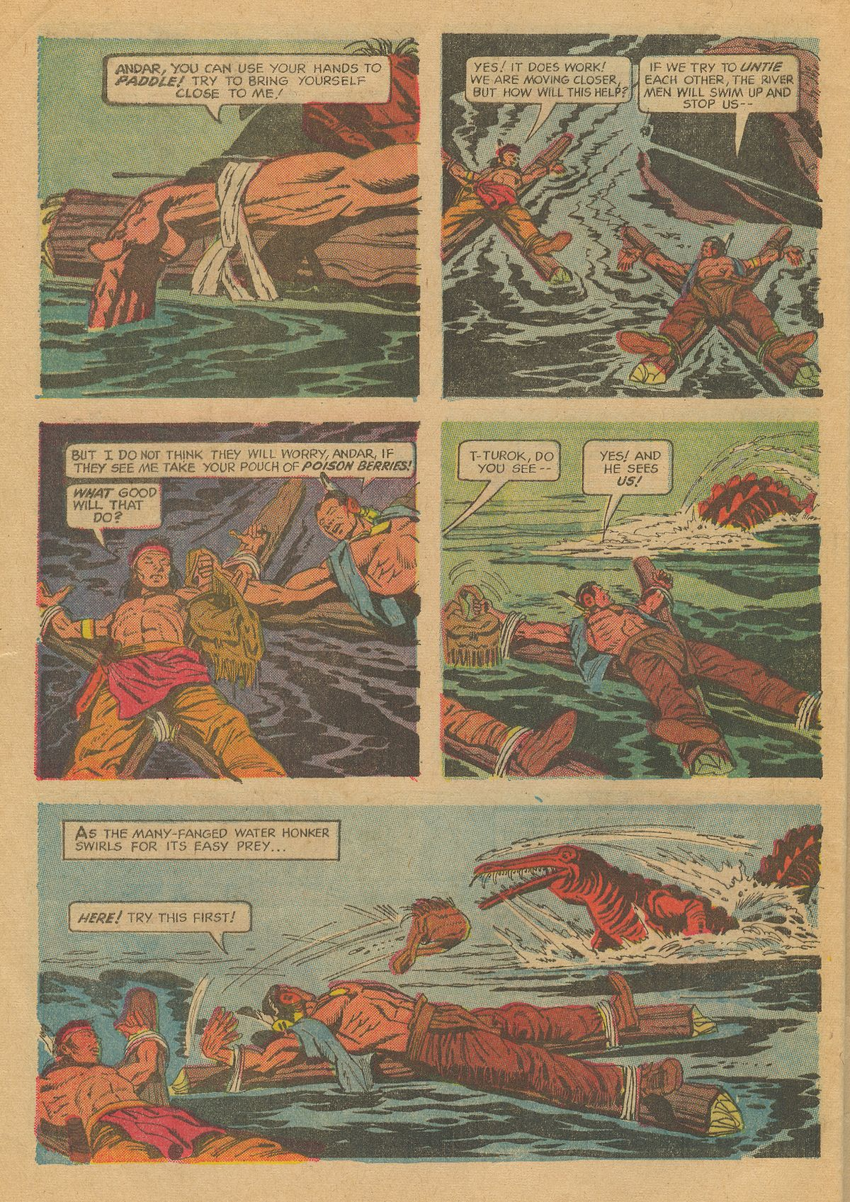 Read online Turok, Son of Stone comic -  Issue #70 - 28