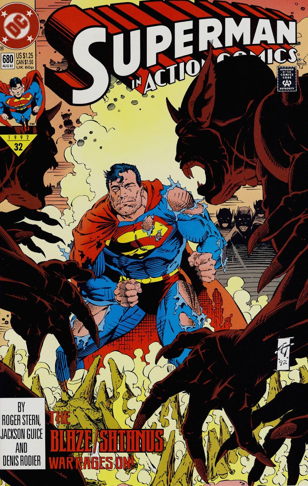 Action Comics (1938) 680 Page 1