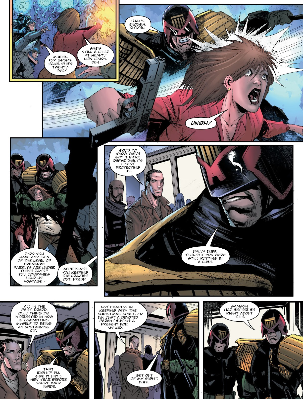 Judge Dredd Megazine (Vol. 5) issue 427 - Page 7