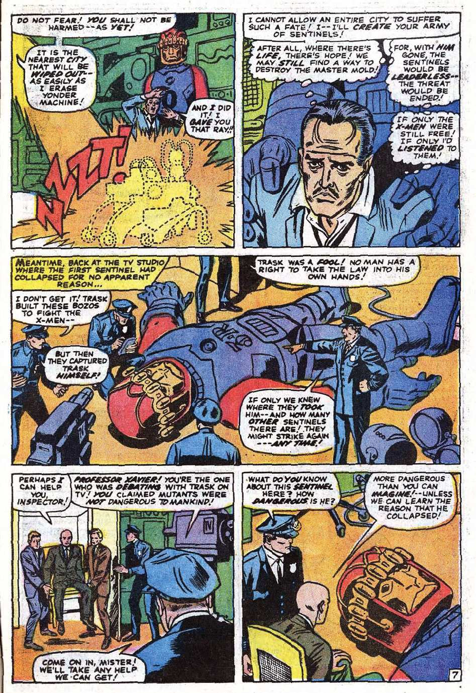 Read online Uncanny X-Men (1963) comic -  Issue #69 - 9