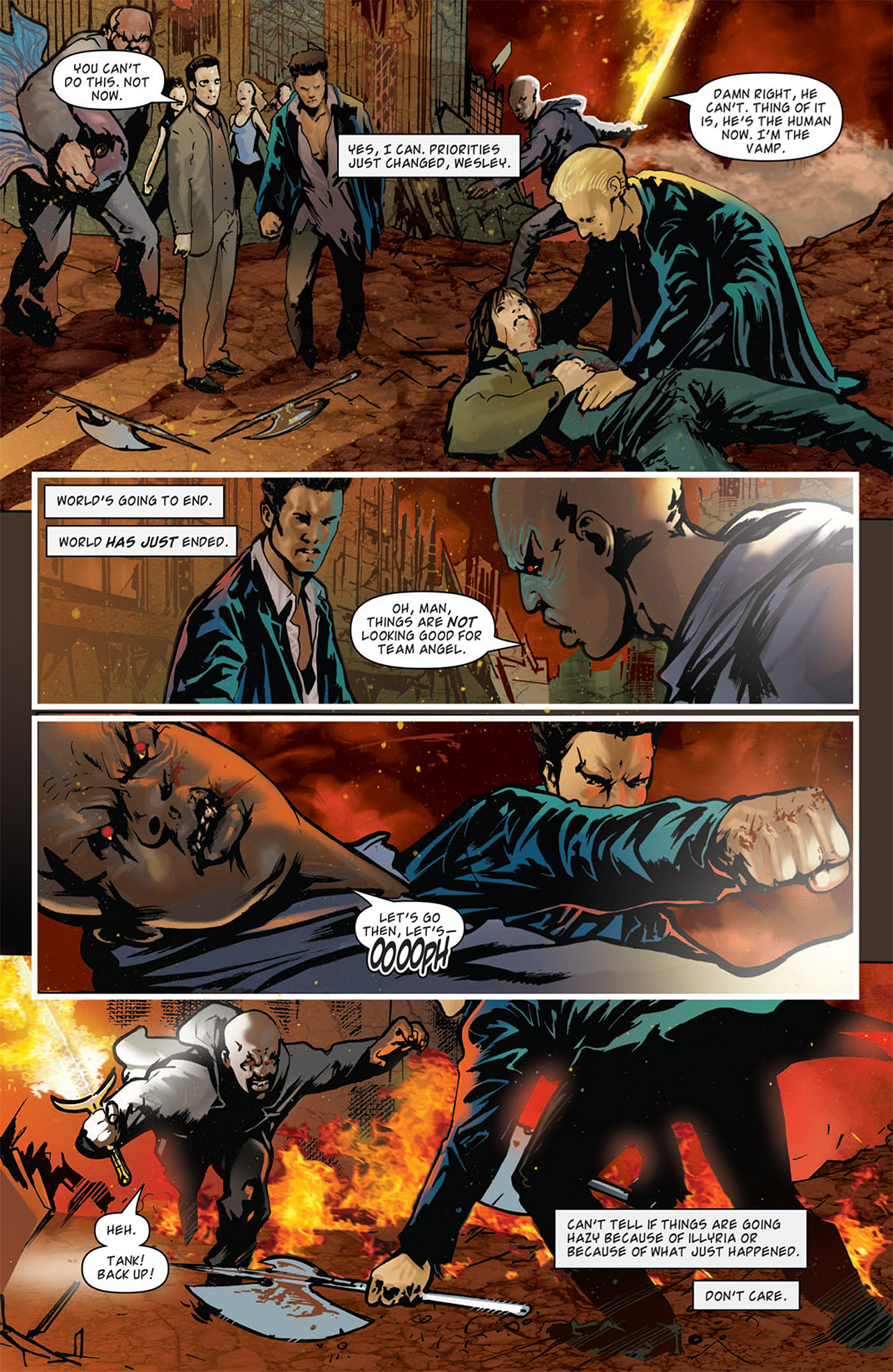 Read online Angel: After The Fall comic -  Issue #15 - 16