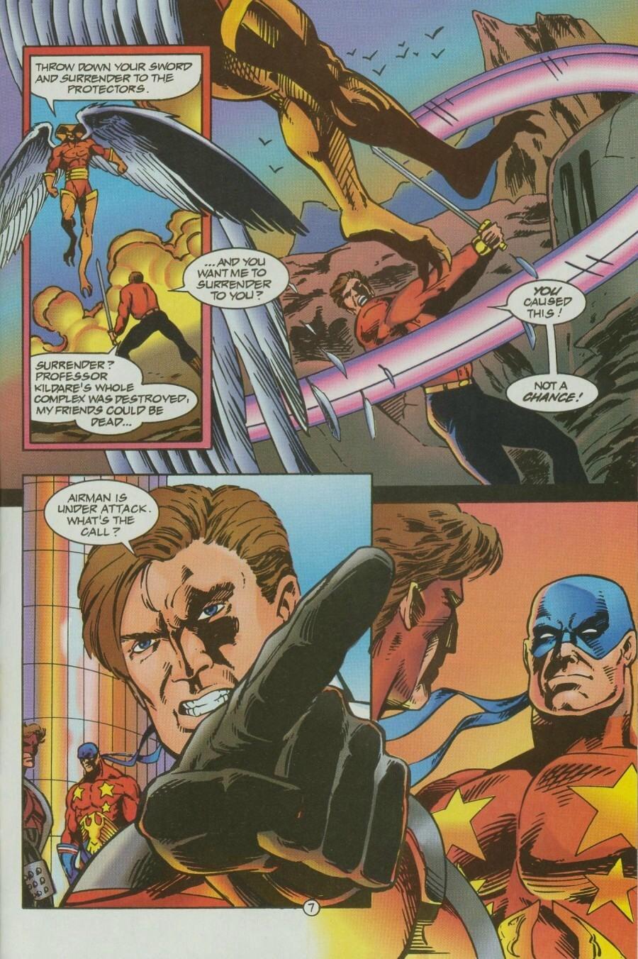 Read online Ex-Mutants comic -  Issue #12 - 8