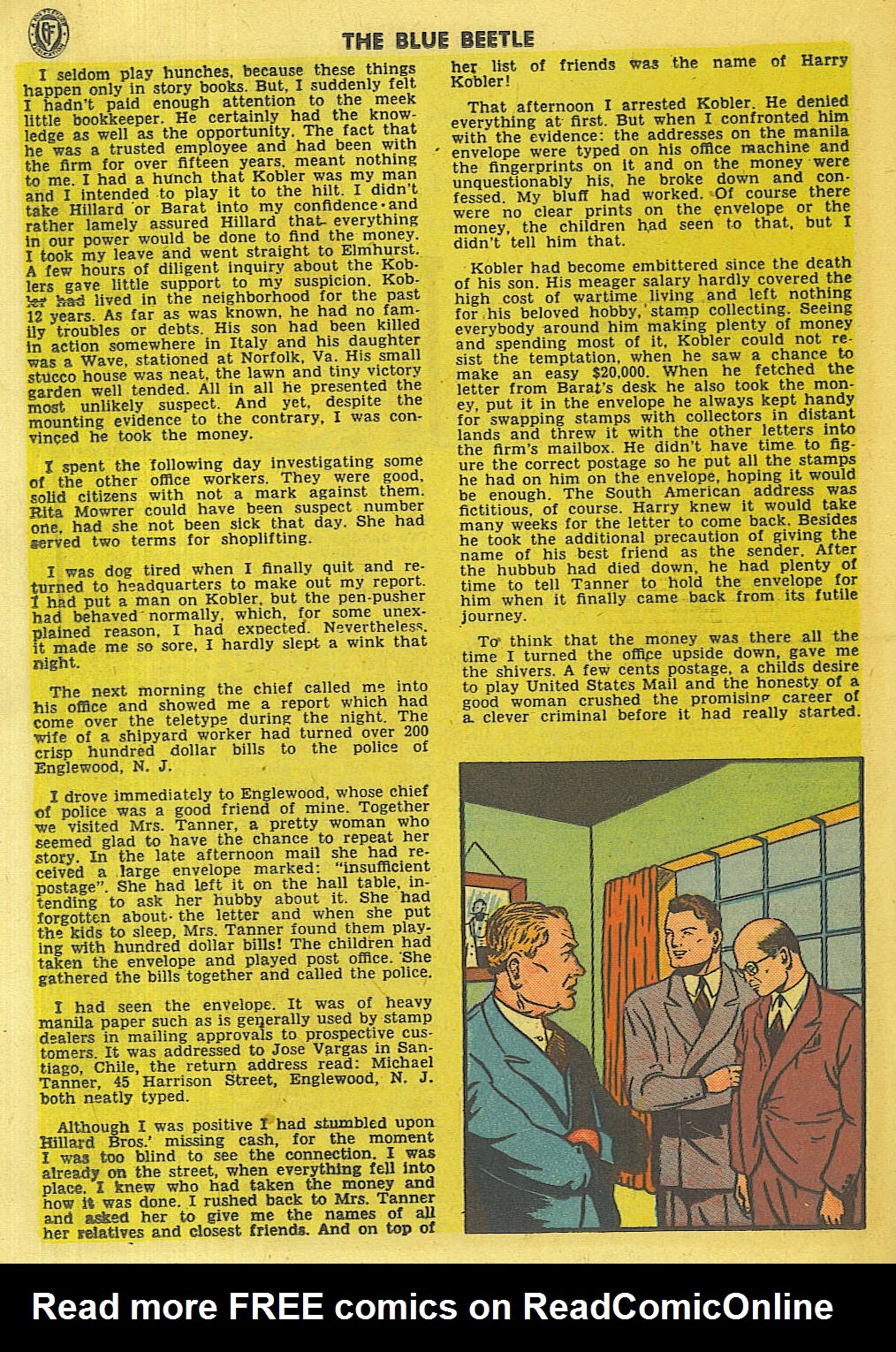 The Blue Beetle issue 35 - Page 23