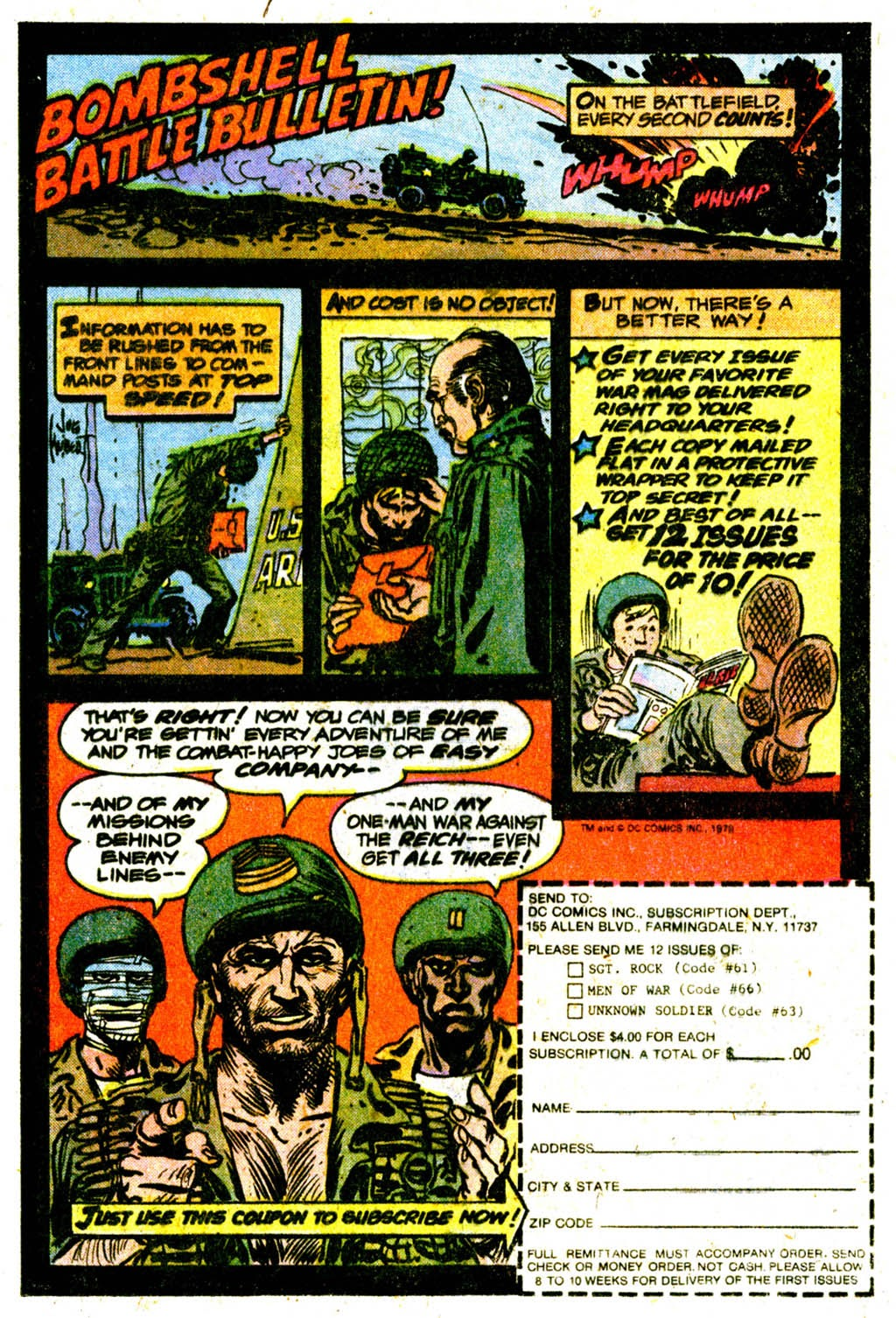 Read online Sgt. Rock comic -  Issue #332 - 23