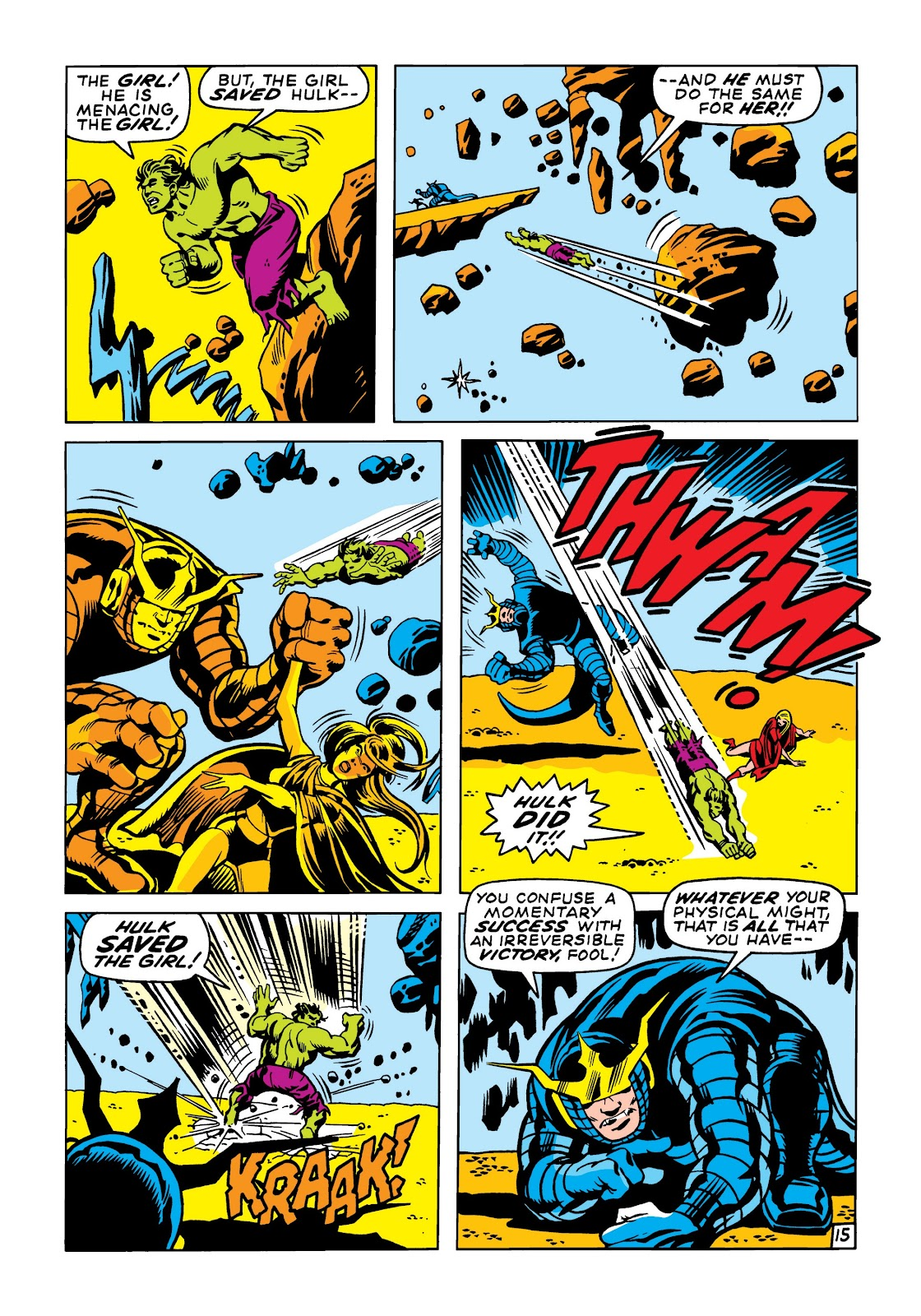 Read online Marvel Masterworks: The Incredible Hulk comic -  Issue # TPB 6 (Part 2) - 8
