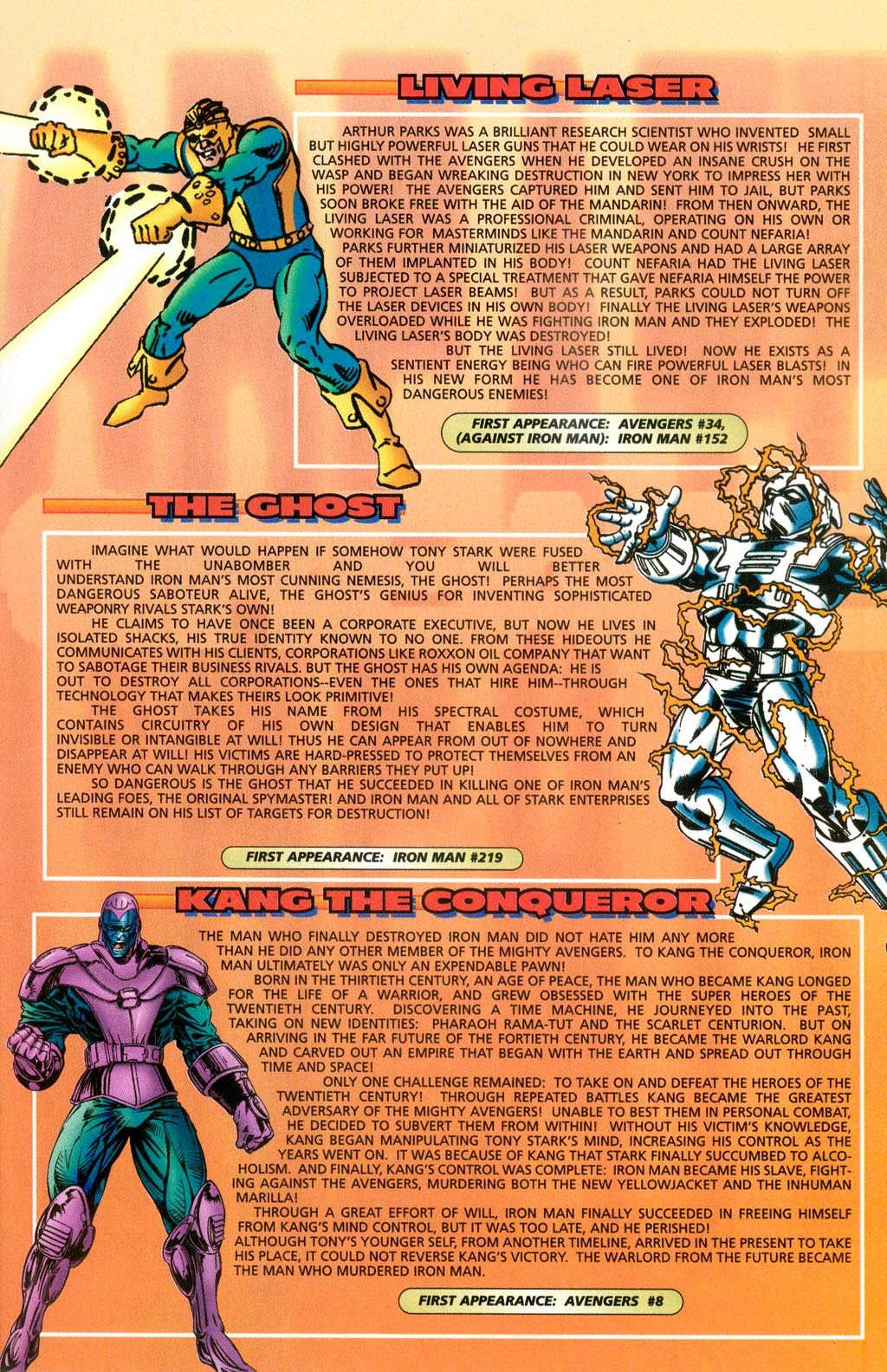Read online Iron Man: The Legend comic -  Issue # Full - 29