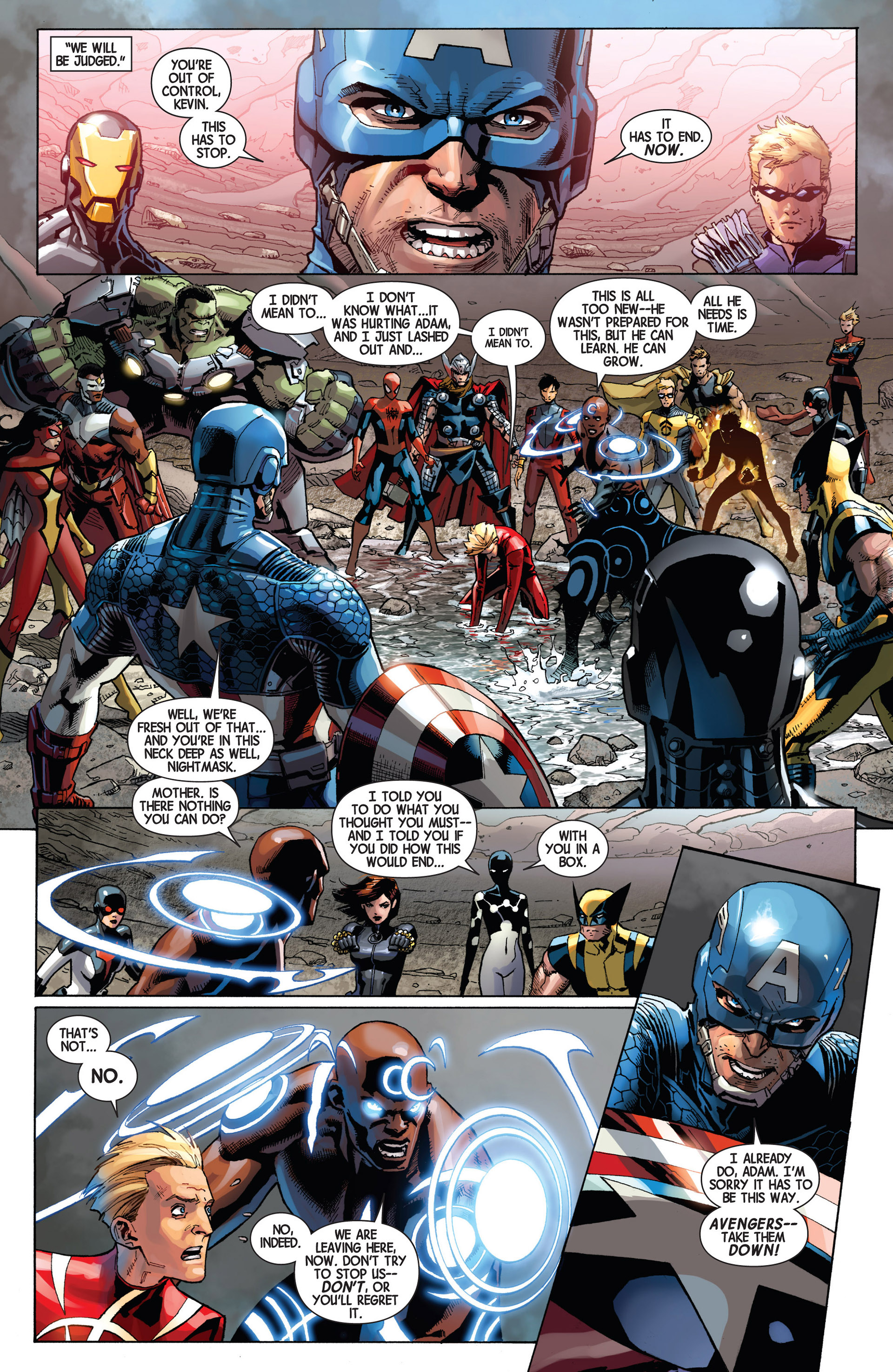 Read online Avengers (2013) comic -  Issue #9 - 17